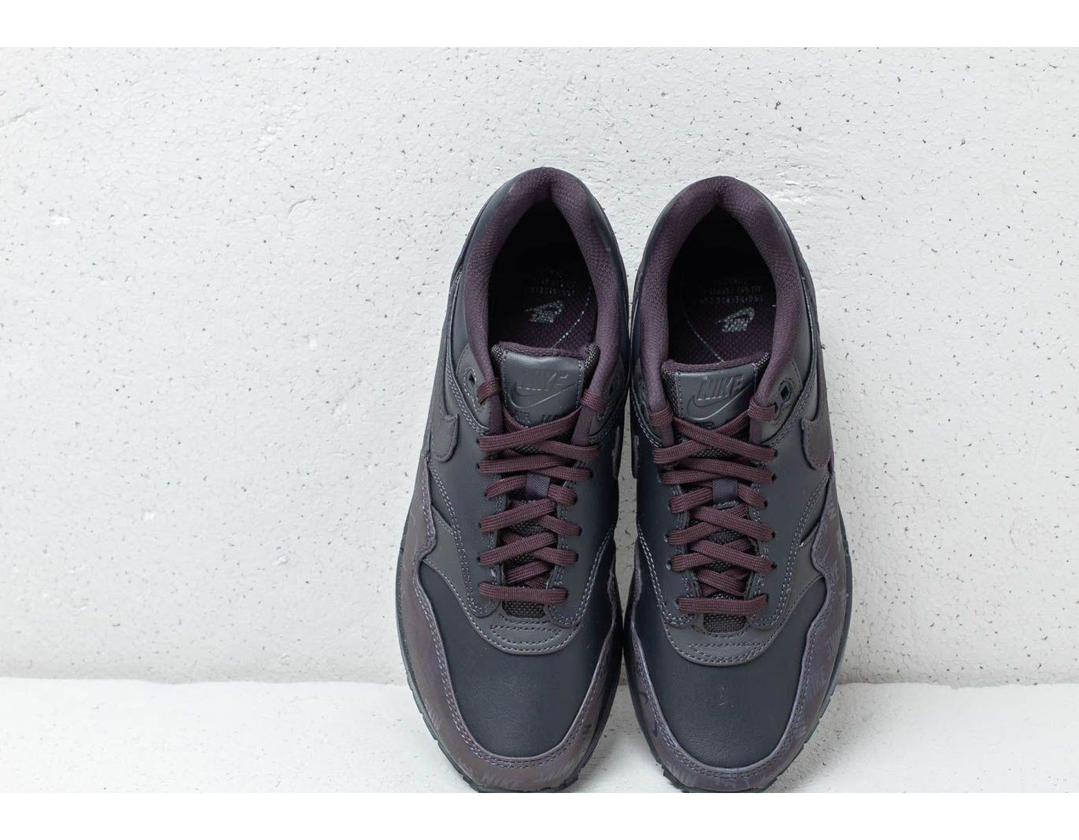 separation shoes b2c76 894af Nike Wmns Air Max 1 Lx Oil Grey  Oil Grey-oil Grey in Gray - Lyst