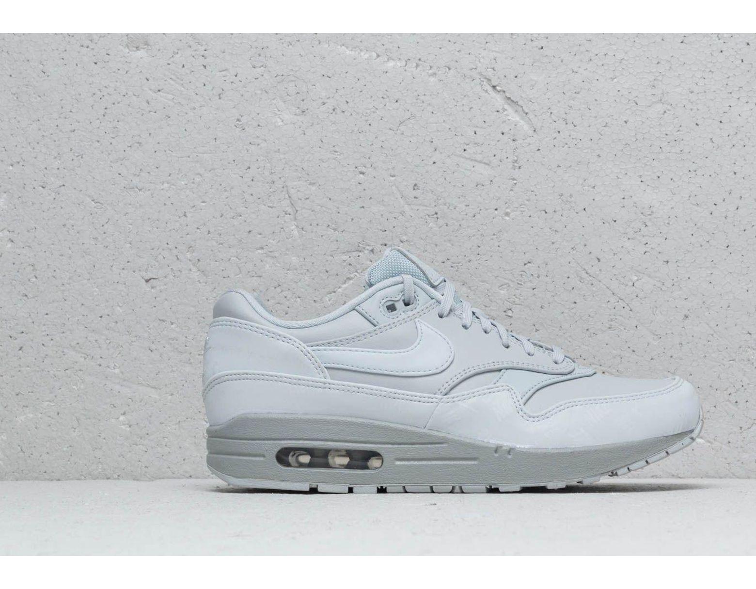 buy online 2922c 7398f Lyst - Nike Wmns Air Max 1 Lx Pure Platinum  Pure Platinum