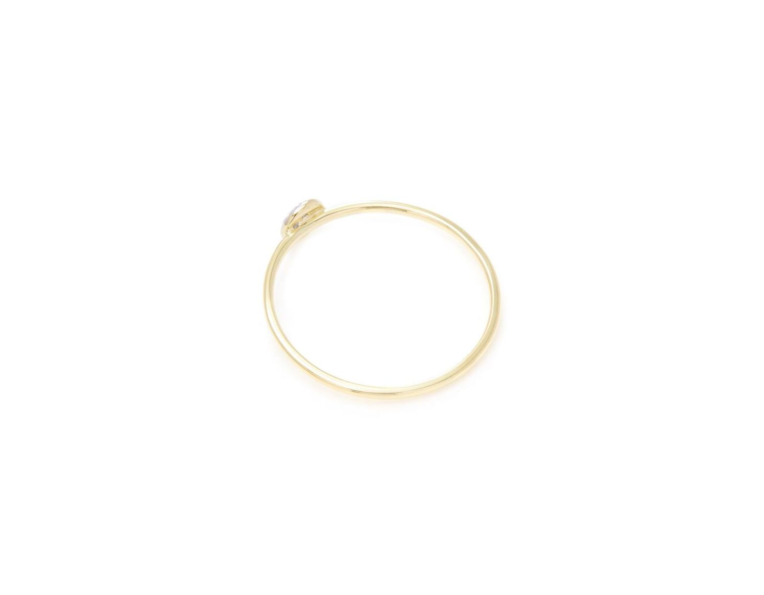 e56d3aa214c31 Danni 14k & 0.04 Ct. Tw. Diamond Micro Dot Stackable Ring in ...