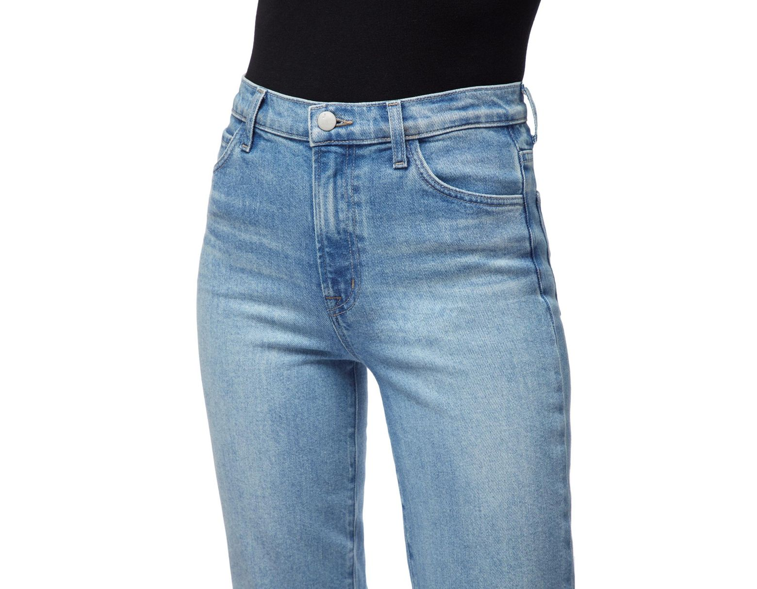 3d9dc7808a J Brand Jules High-rise Straight Leg in Blue - Lyst