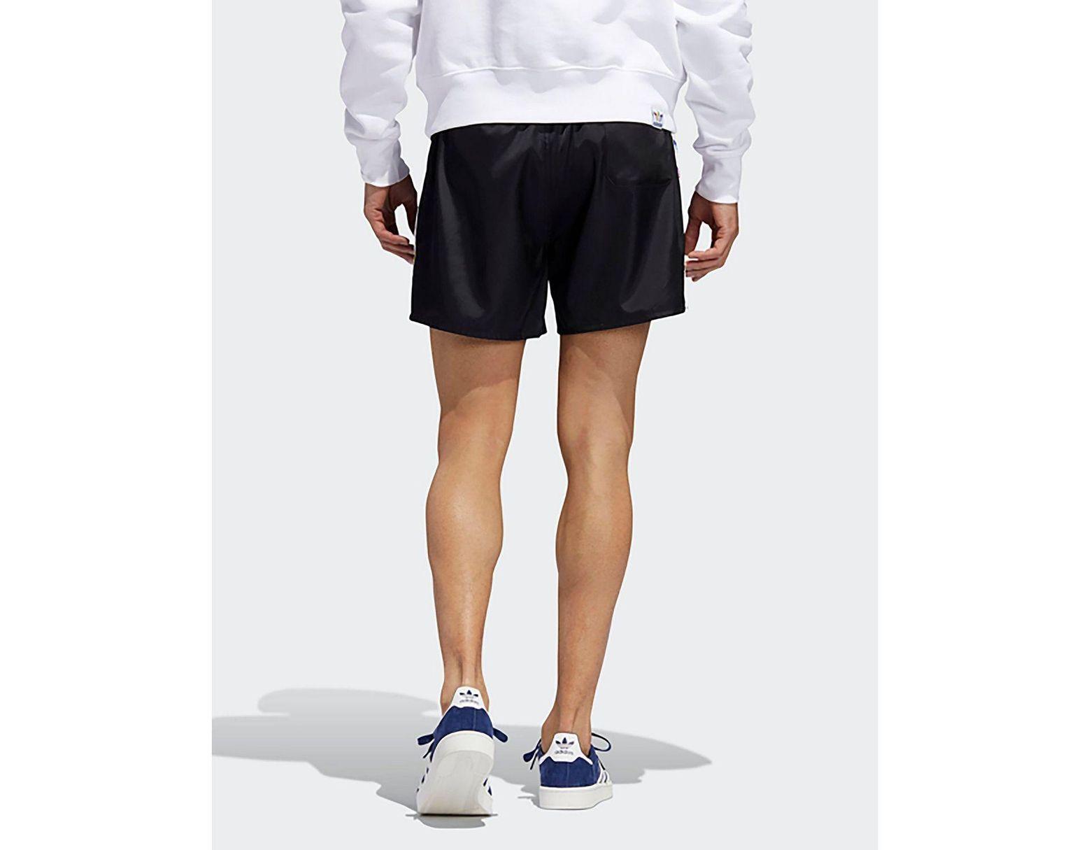 adidas Originals Pride Trefoil Tape Shorts M: