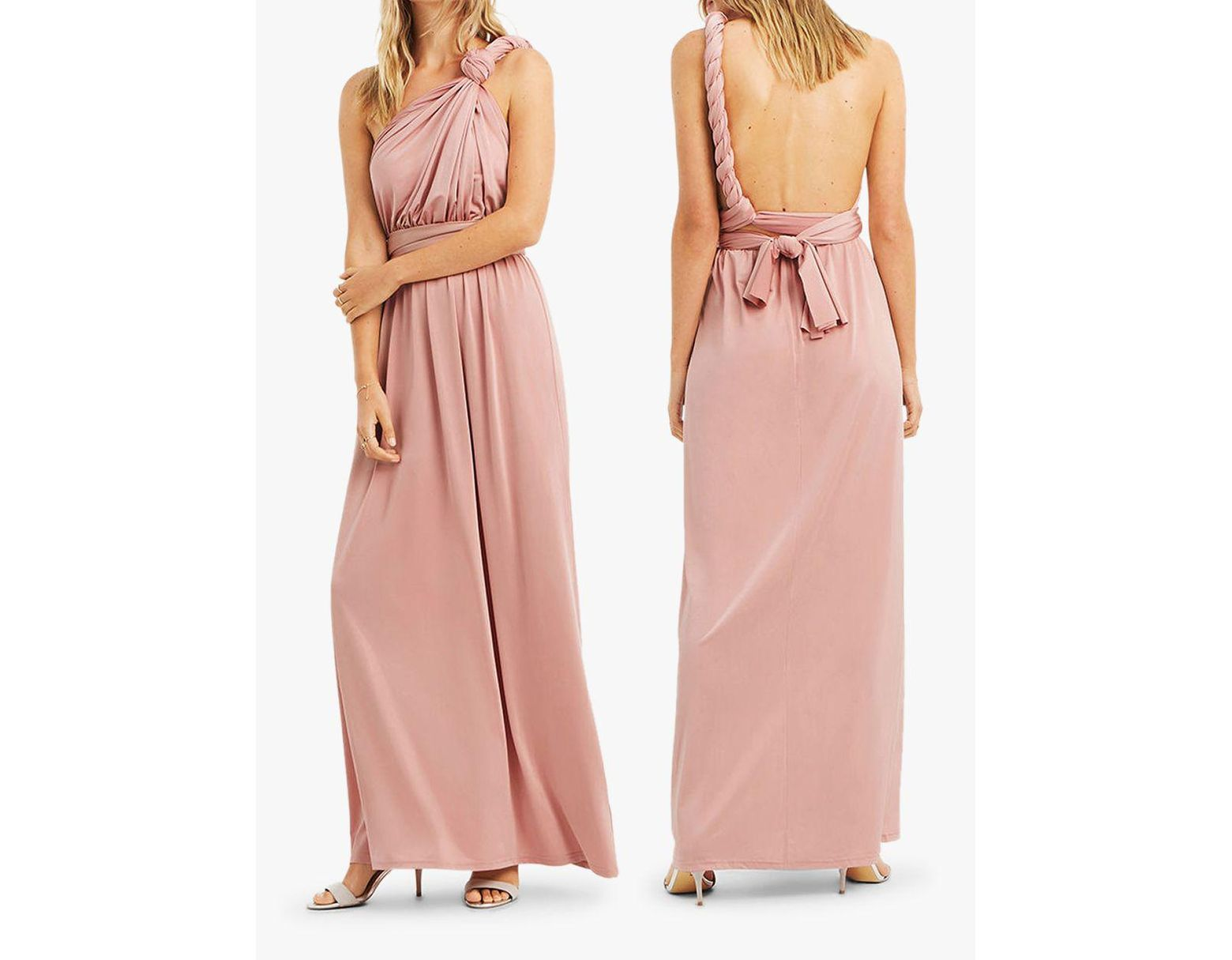 f3e4eacf1271 Oasis Annie Multiway Maxi Dress in Pink - Save 72% - Lyst
