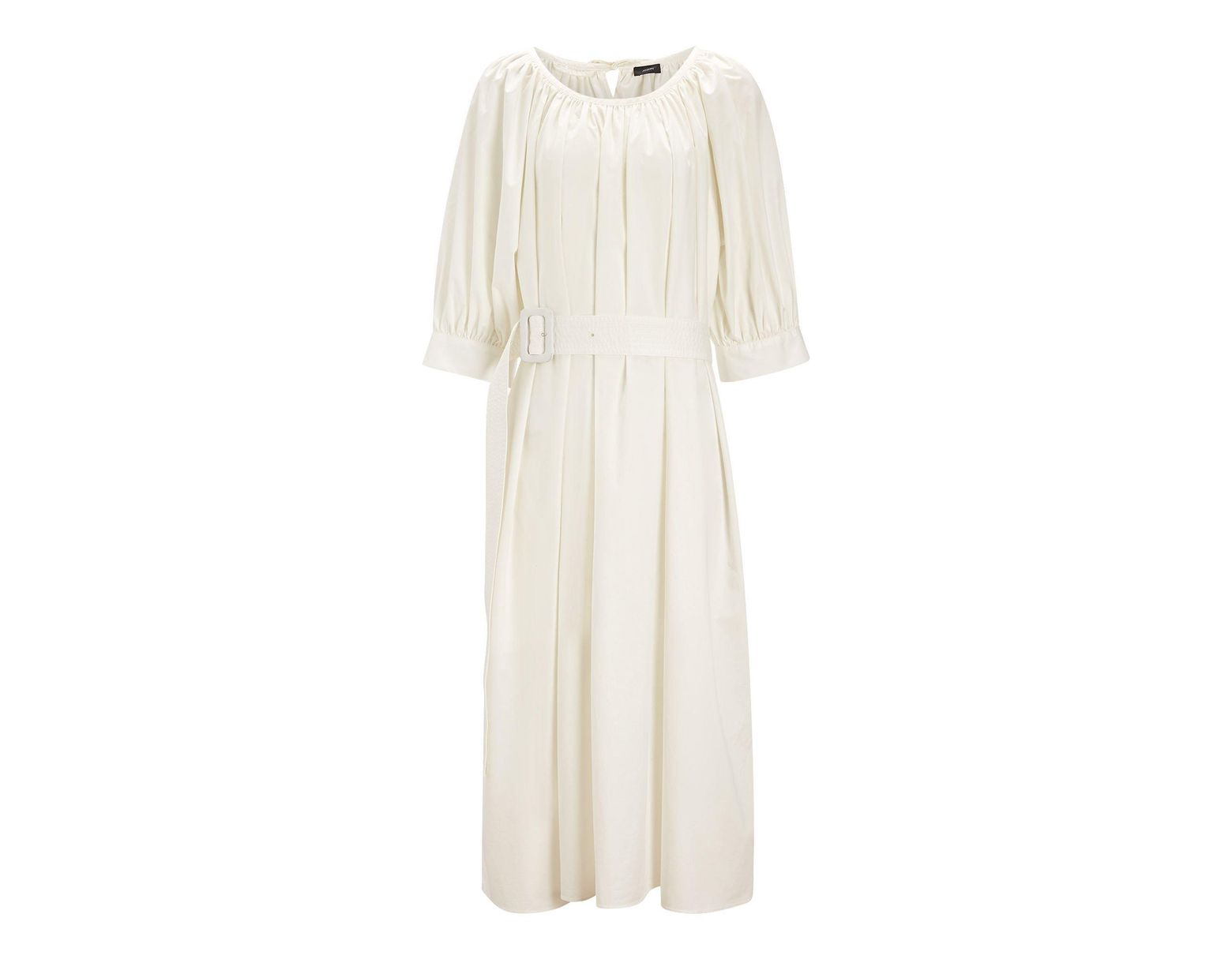 67f8d3ad826065 JOSEPH Shan Cotton Dress in White - Lyst