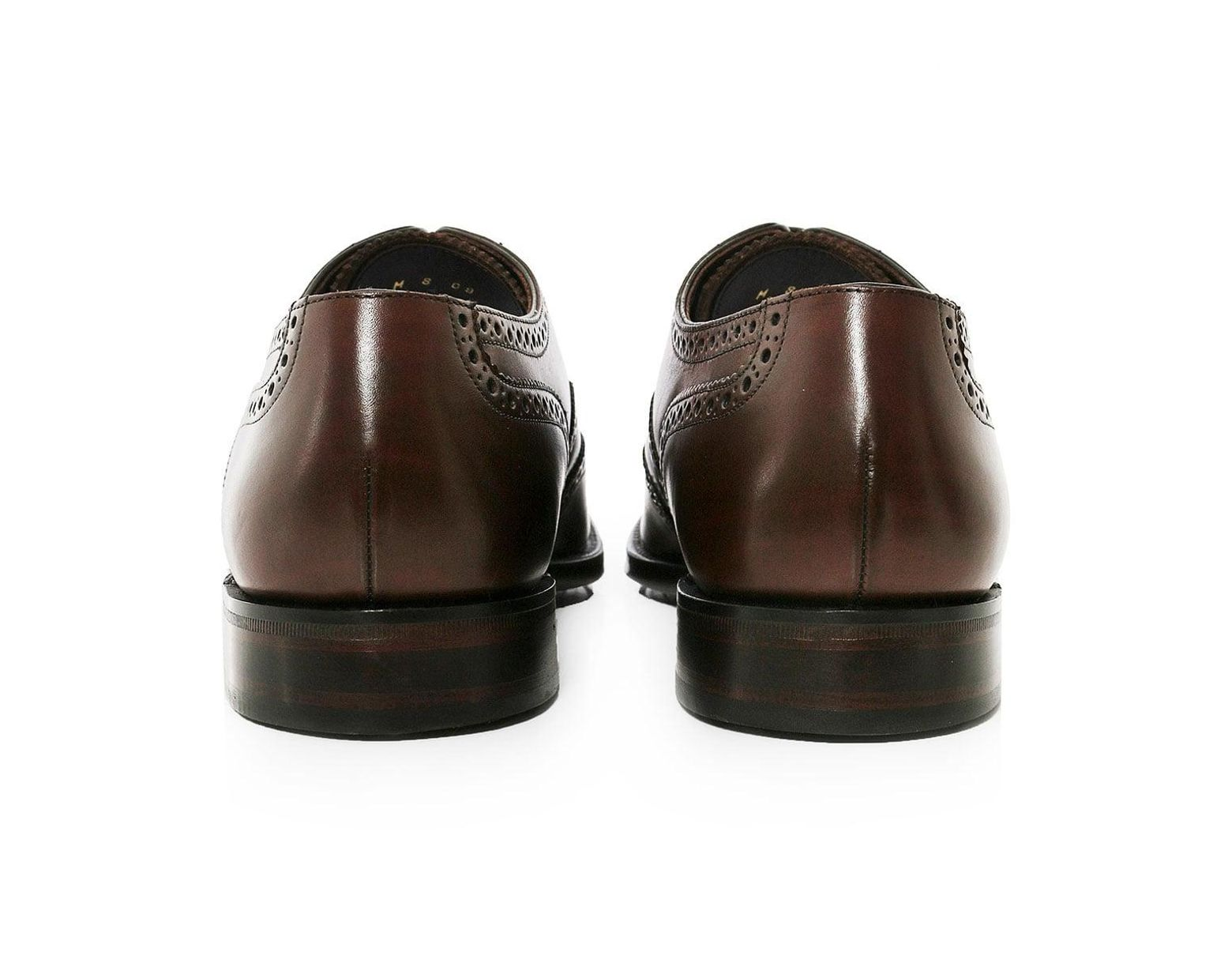 9144d6dd00f0 Loake Calf Leather Buckingham Brogues in Brown for Men - Lyst