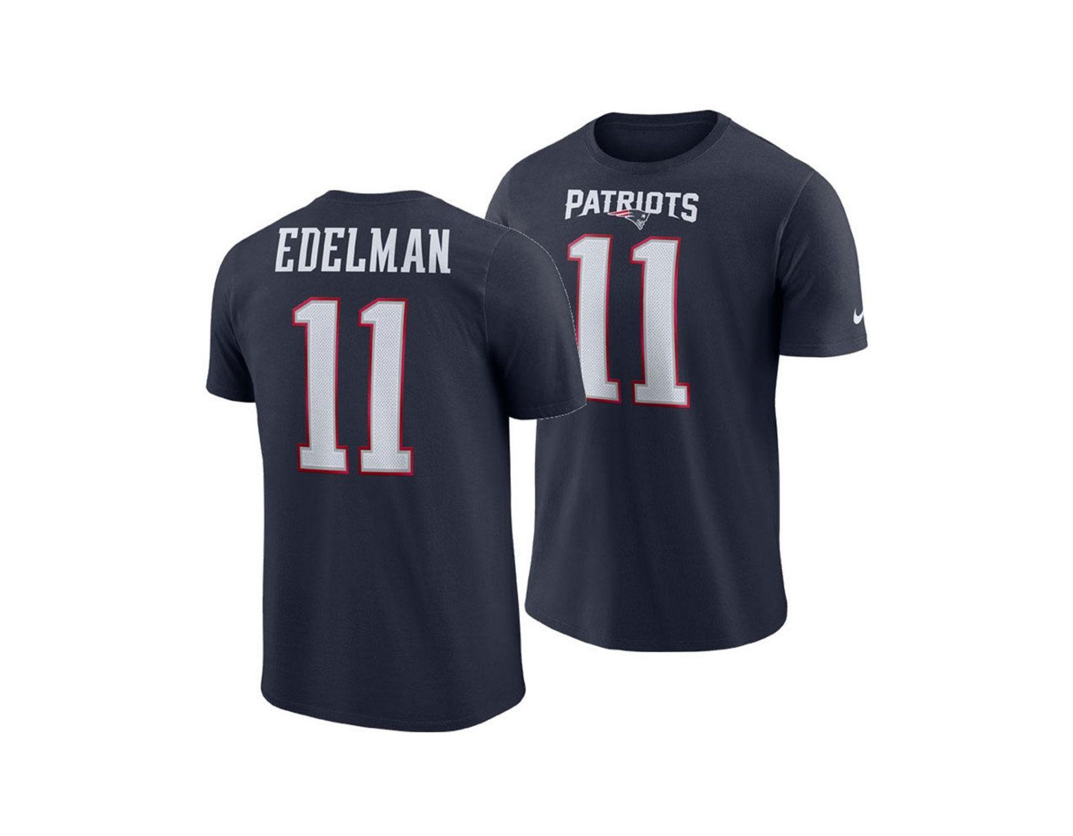 timeless design fdc38 570b1 Nike Julian Edelman New England Patriots Pride Name And ...