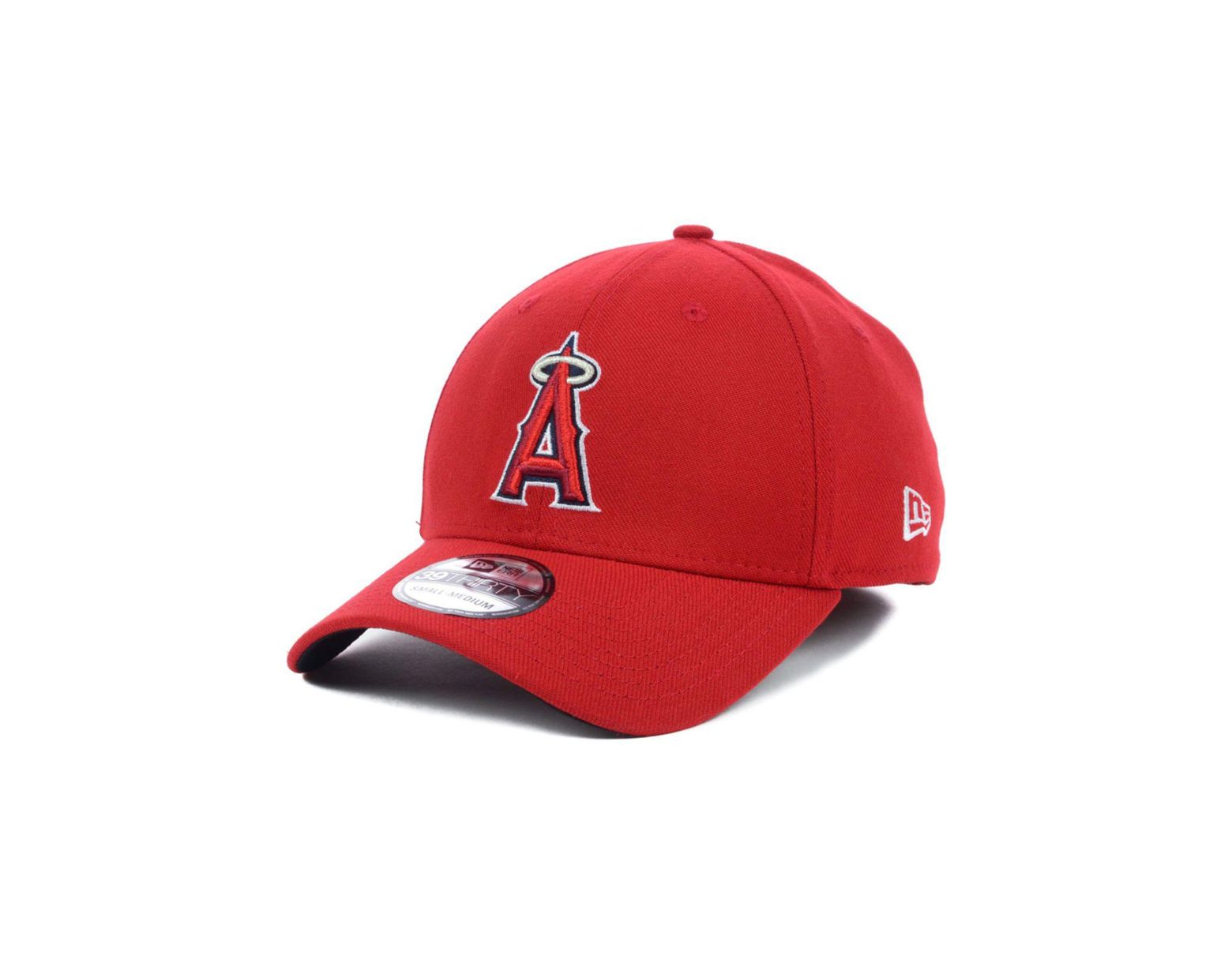3a54b4bea3de9a KTZ Los Angeles Angels Of Anaheim Mlb Team Classic 39thirty Cap in Red for  Men - Lyst