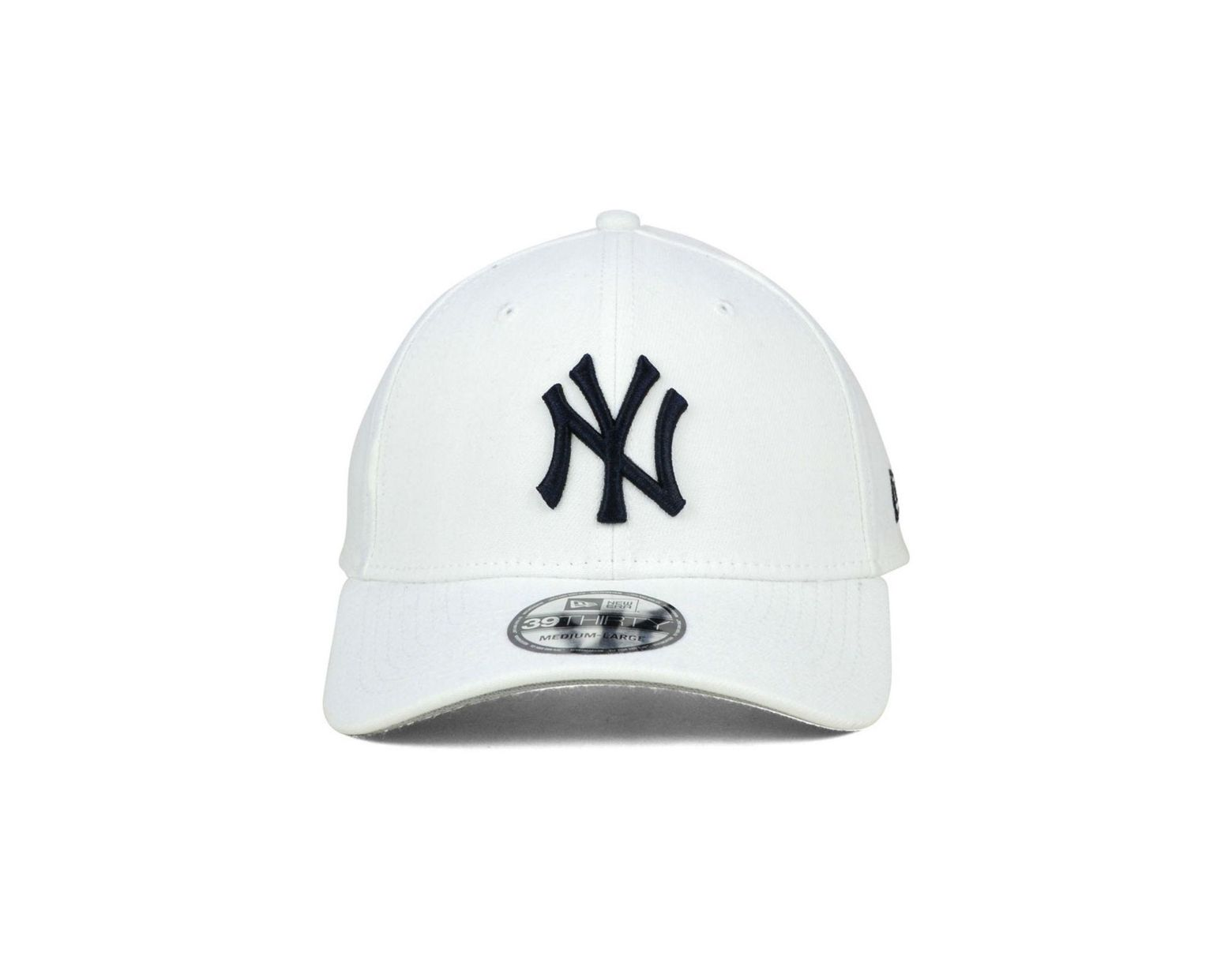 0855d9bf2 KTZ New York Yankees Core Classic 39thirty Cap in White for Men - Lyst