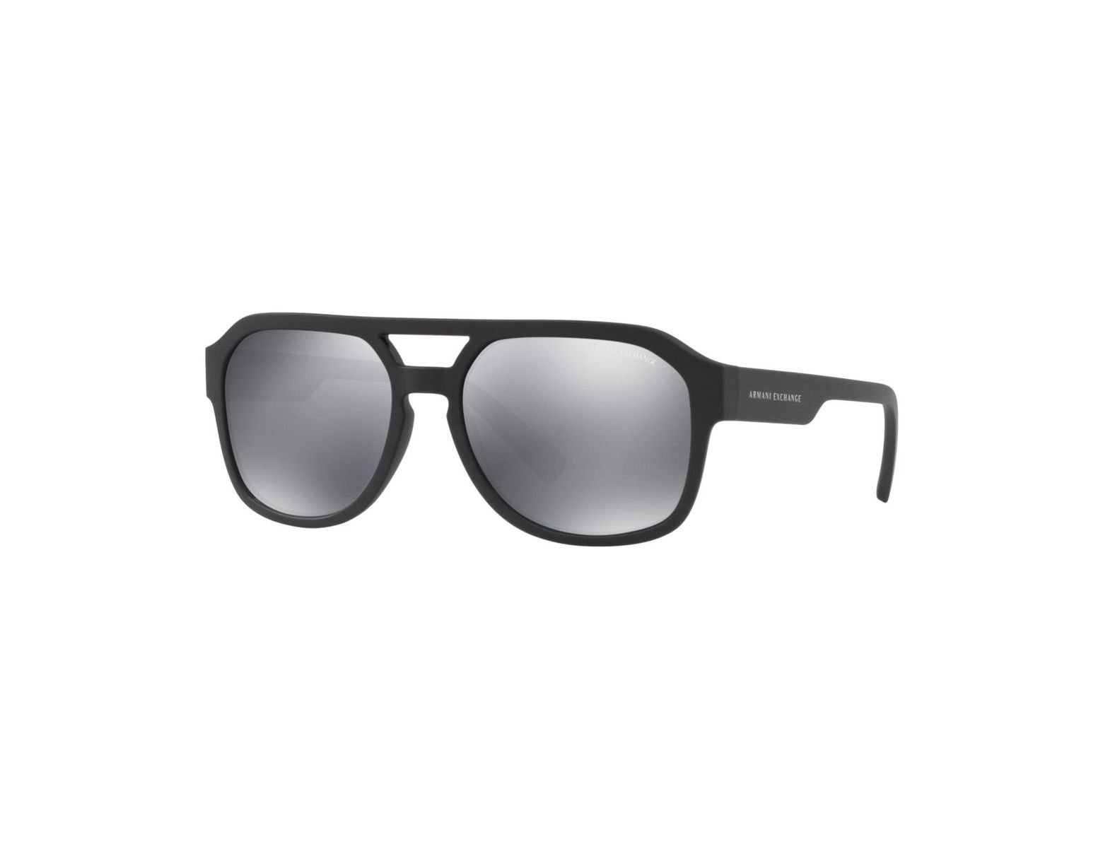 ef0f0abef Armani Exchange Sunglasses, Ax4074s in Black for Men - Lyst