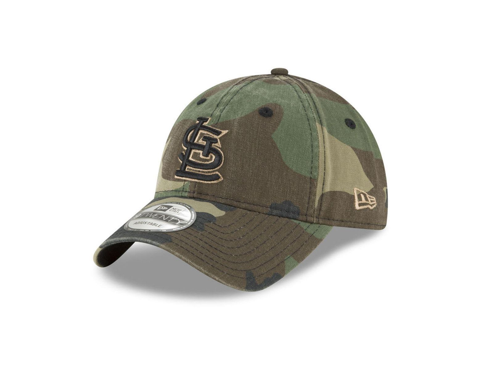 reputable site 6e92d 26f8a KTZ St. Louis Cardinals Camo Core Classic 9twenty Cap in Green for Men -  Lyst