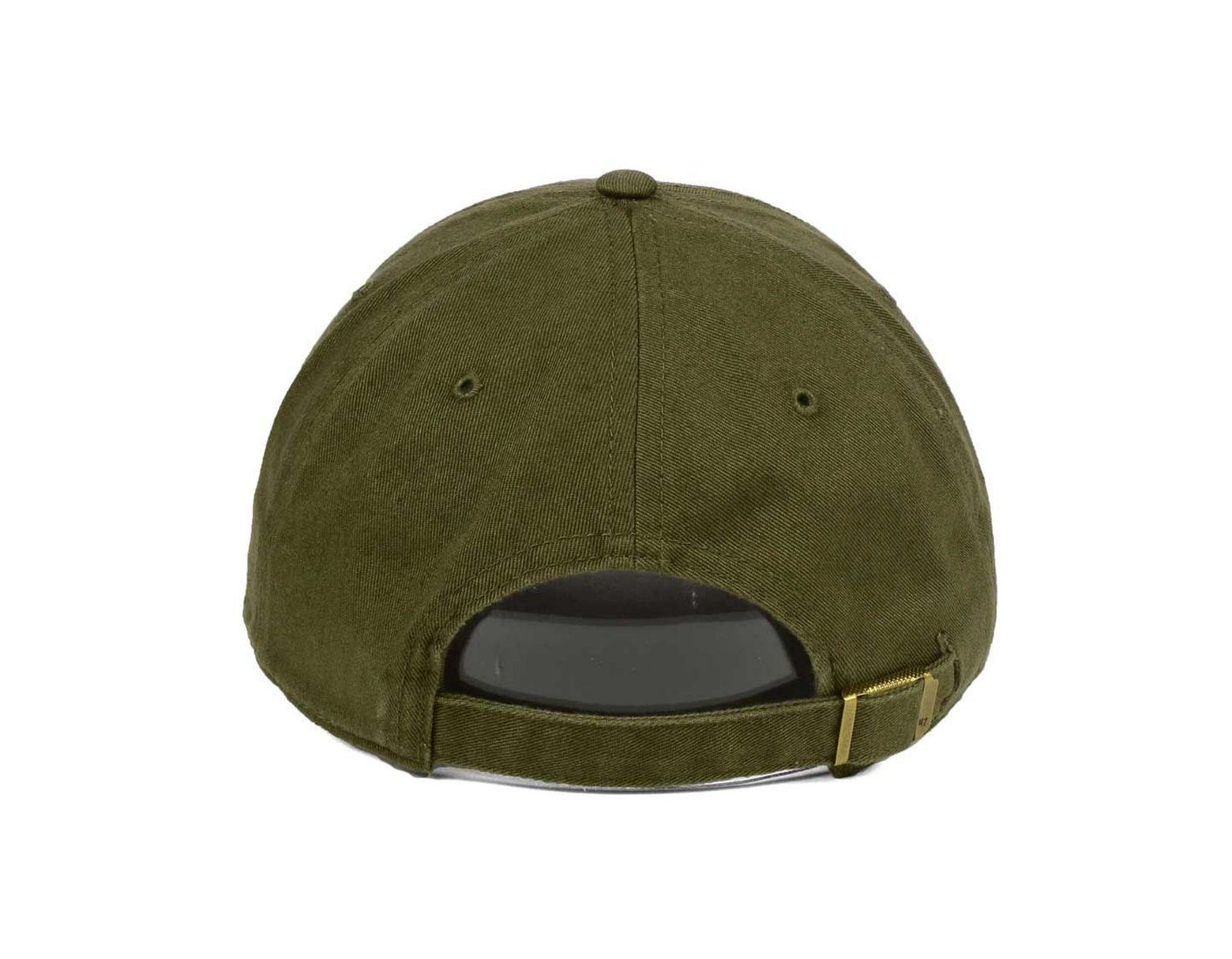 9d7bf21d8 47 Brand Tampa Bay Rays Olive White Clean Up Cap in Green for Men - Lyst