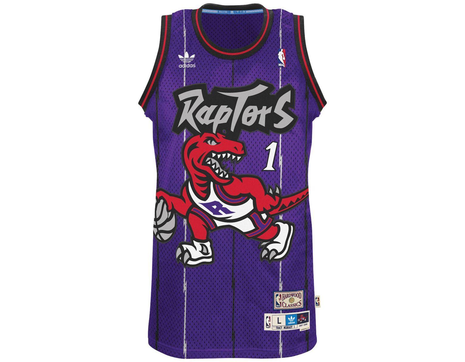 a06589761693 Lyst - adidas Men s Tracy Mcgrady Toronto Raptors Swingman Jersey in Purple  for Men