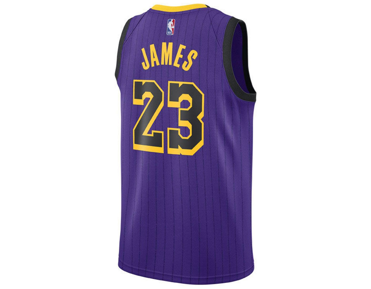 a88c25a64 Nike Lebron James Los Angeles Lakers City Swingman Jersey 2018 in Purple  for Men - Save 7% - Lyst