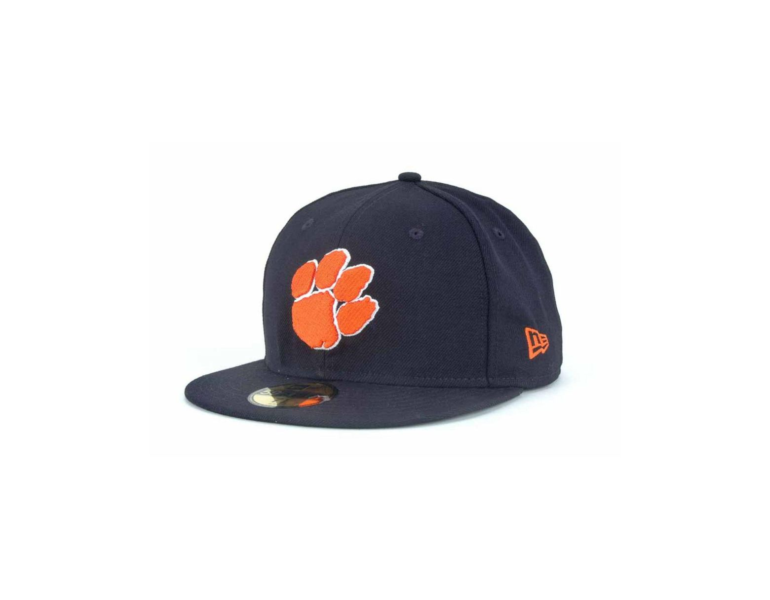 new products 9b75a 47841 KTZ Clemson Tigers 59fifty Cap in Blue for Men - Lyst