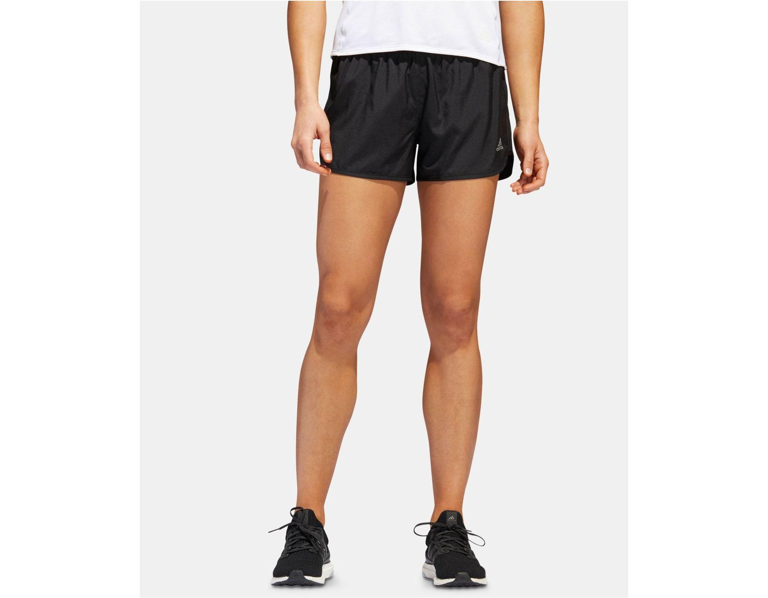 adidas M20 Climacool® Reflective Running Shorts in Black Lyst