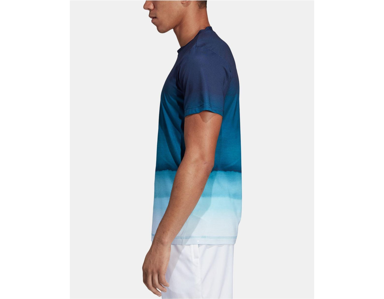 645a1f452 adidas Parley Ombré Tennis T-shirt in Blue for Men - Lyst