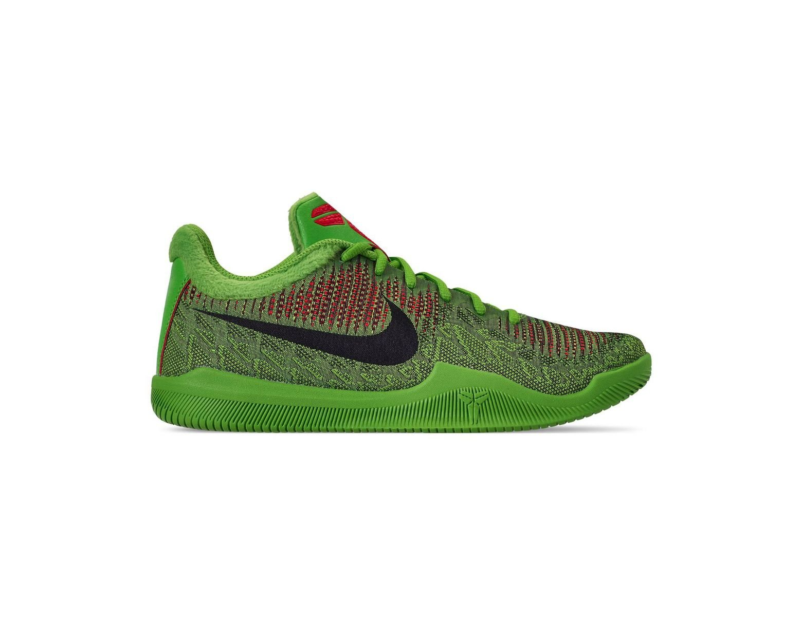 buy popular 936a8 3ffdd Nike Kobe Mamba Rage Basketball Sneakers From Finish Line in Green for Men  - Lyst