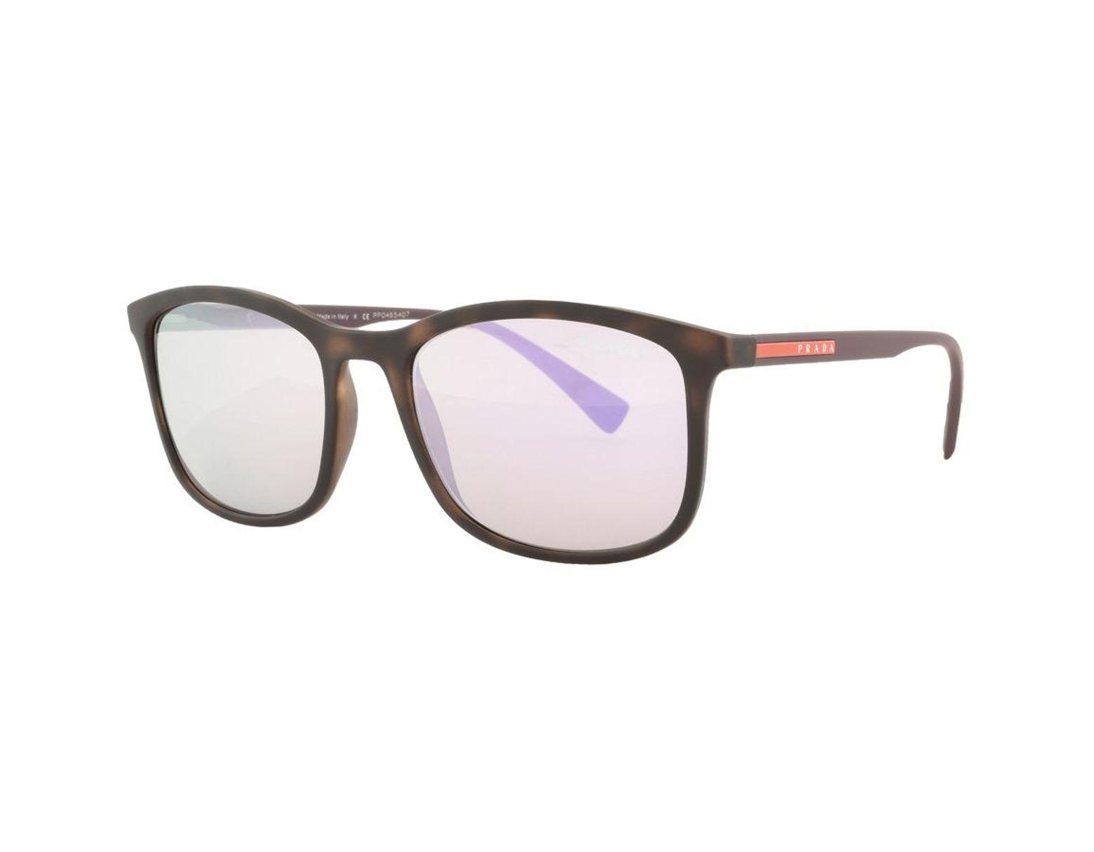 f546ff80b13c Prada Linea Rossa Sunglasses Purple in Purple for Men - Lyst
