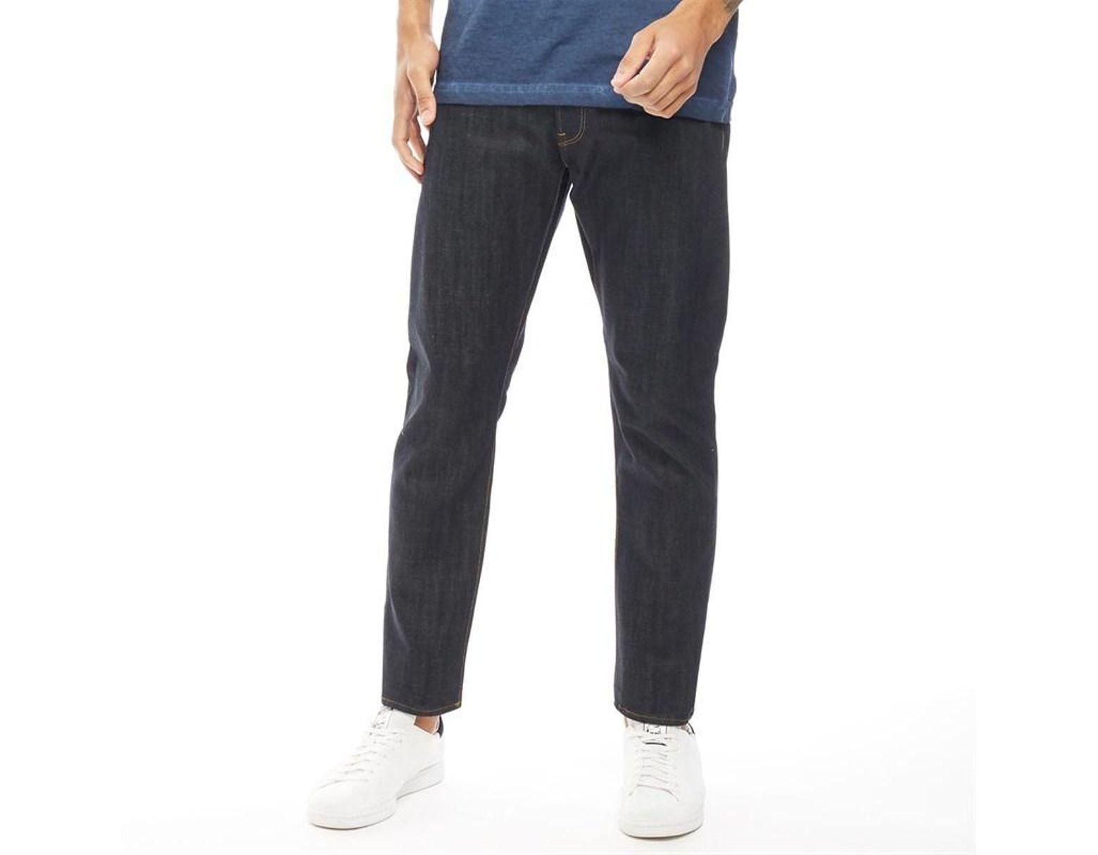 f1db49db7b62ab G-Star RAW Herren 3301 Jeans Mit Zulaufendem Bein Dunkel Denim in Blue for  Men - Lyst