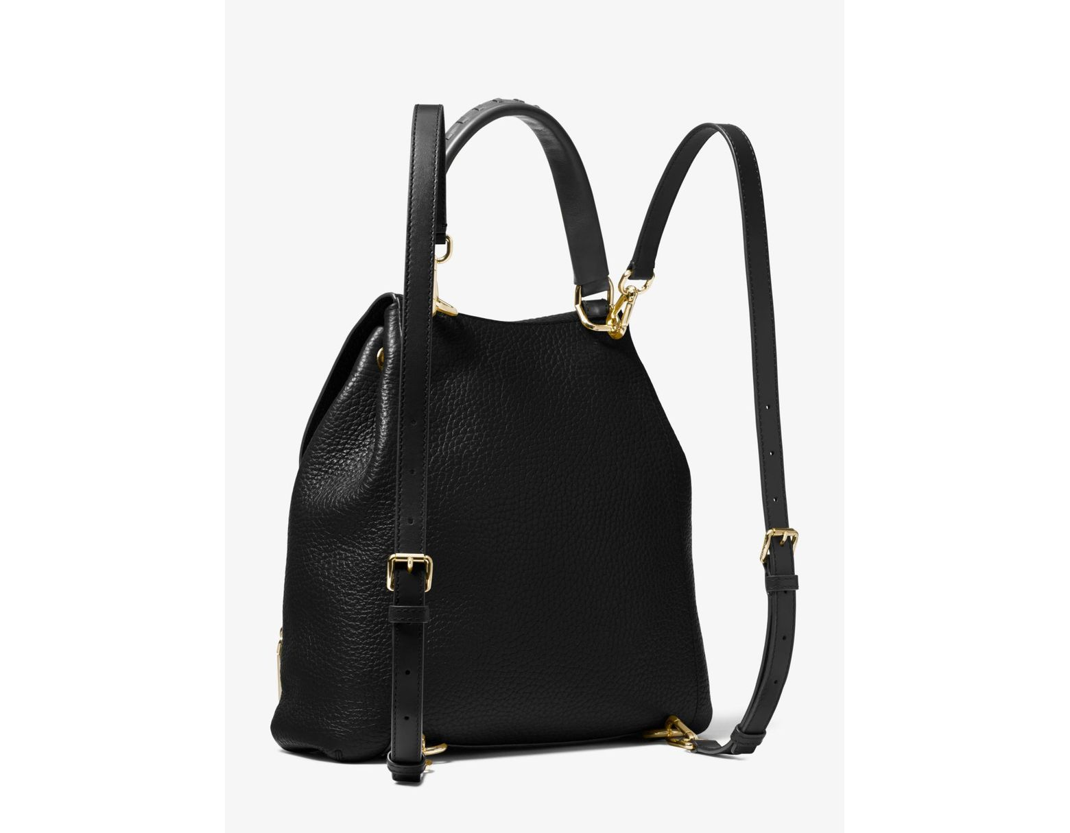 1aff4701ac98 MICHAEL Michael Kors Viv Large Backpack Bag in Black - Lyst