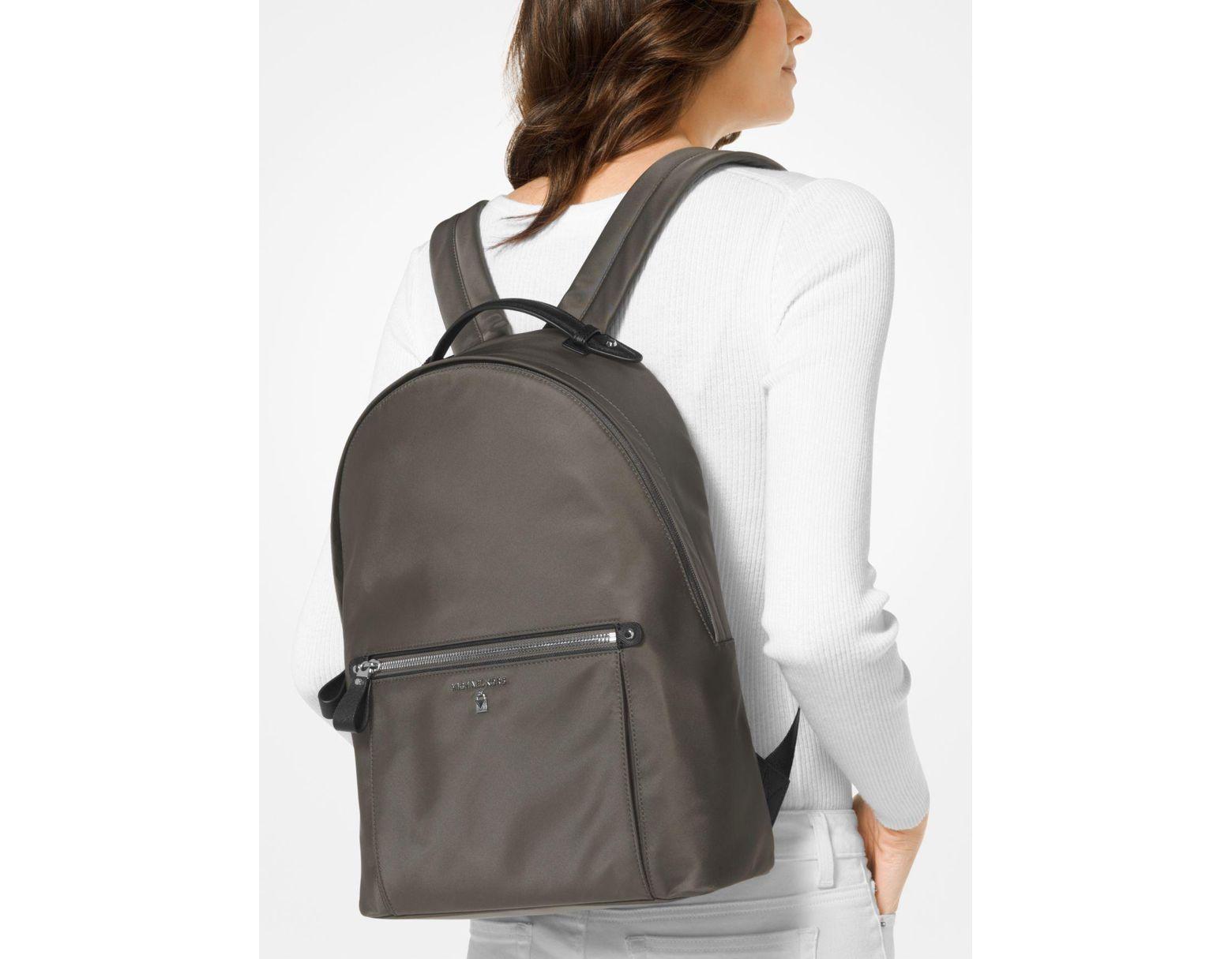2d955ecc4cbe MICHAEL Michael Kors Kelsey Large Nylon Backpack in Gray - Save 25% - Lyst