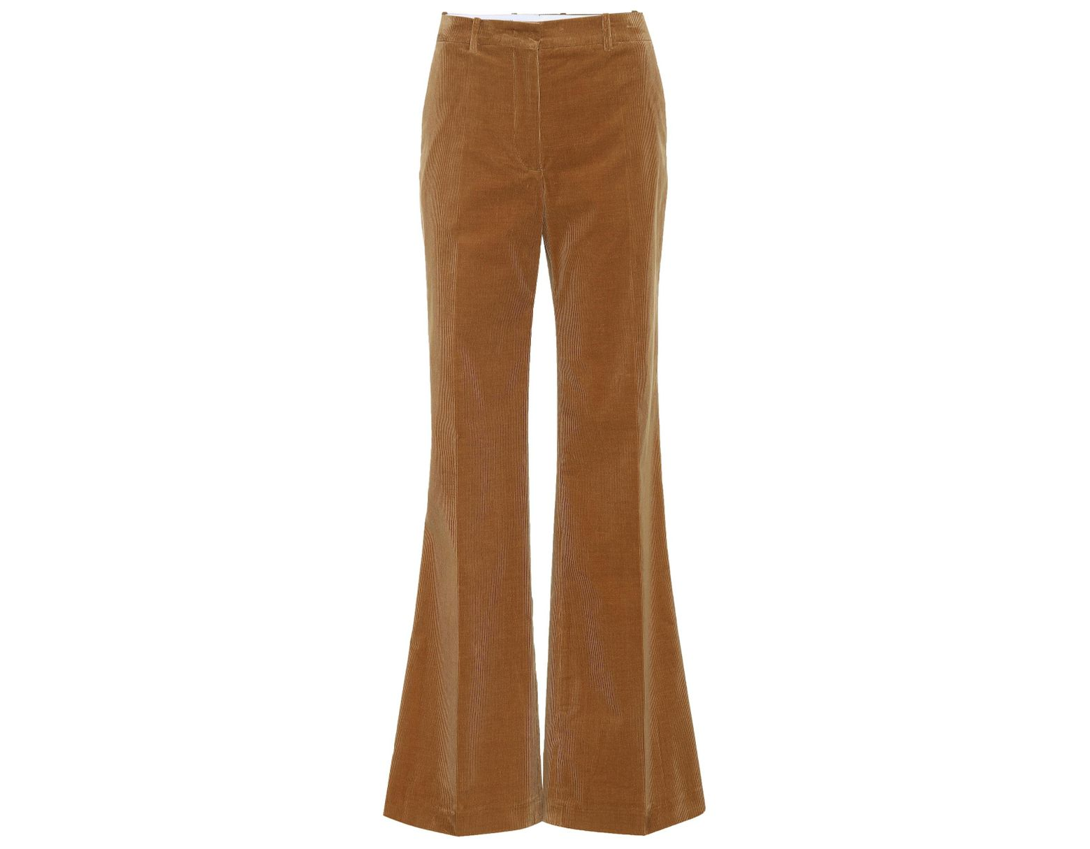 c79aaff4e2 JOSEPH Rone Flared Corduroy Pants in Brown - Lyst