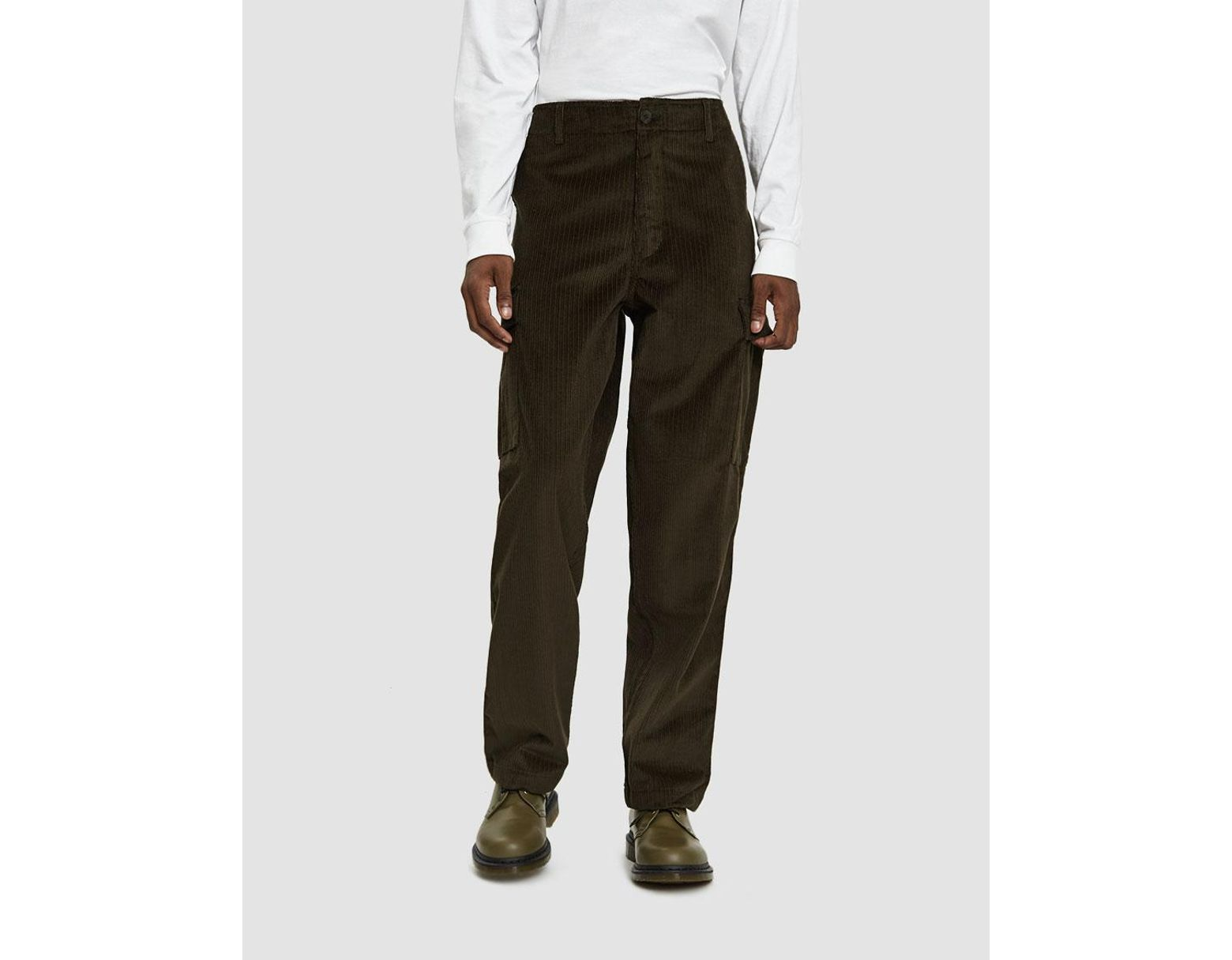 437381bc Pop Trading Co. Corduroy Cargo Pants in Green for Men - Save 75% - Lyst
