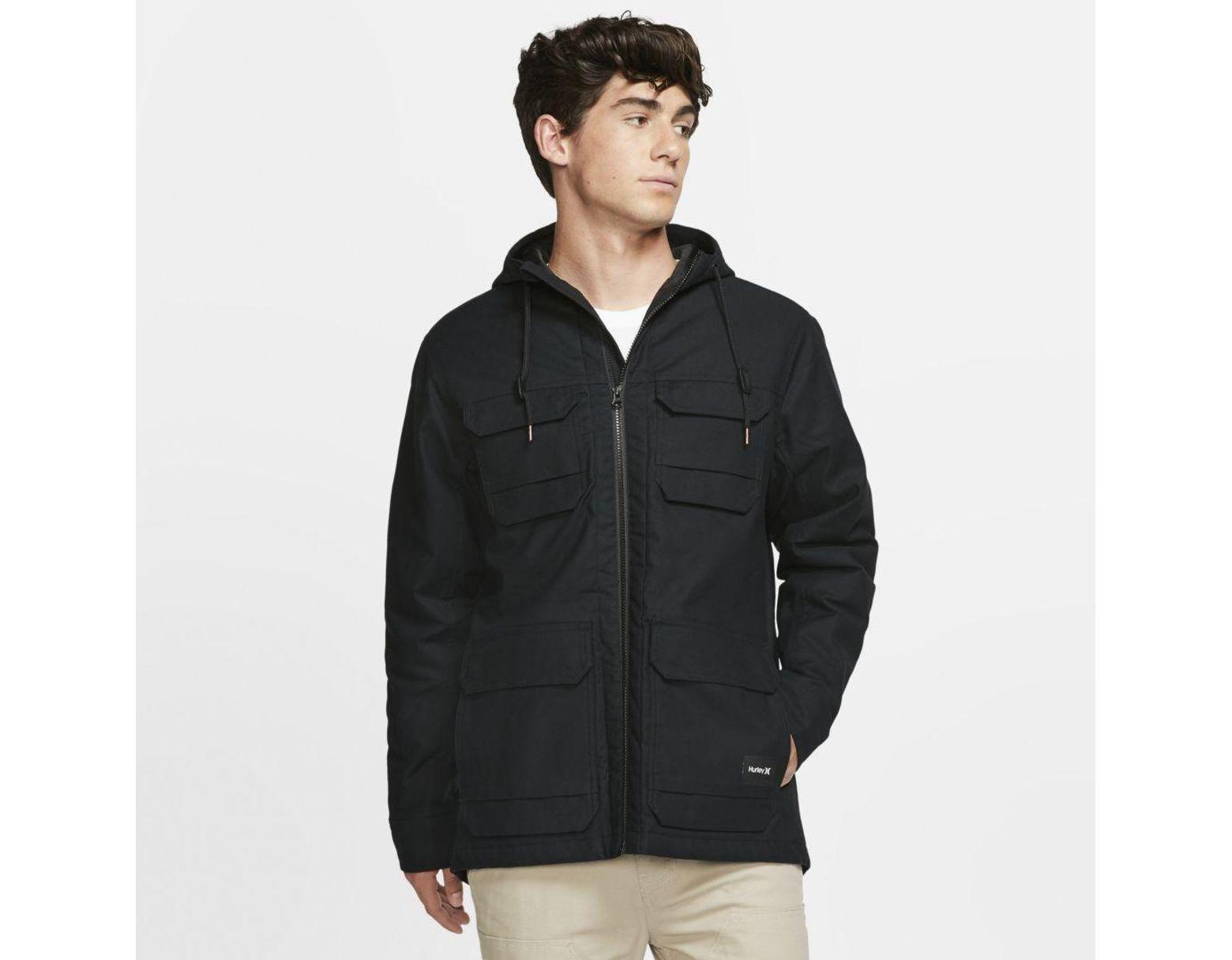 For Nike Black Hurley Jacket Men Lyst M65 In P8n0wOkX