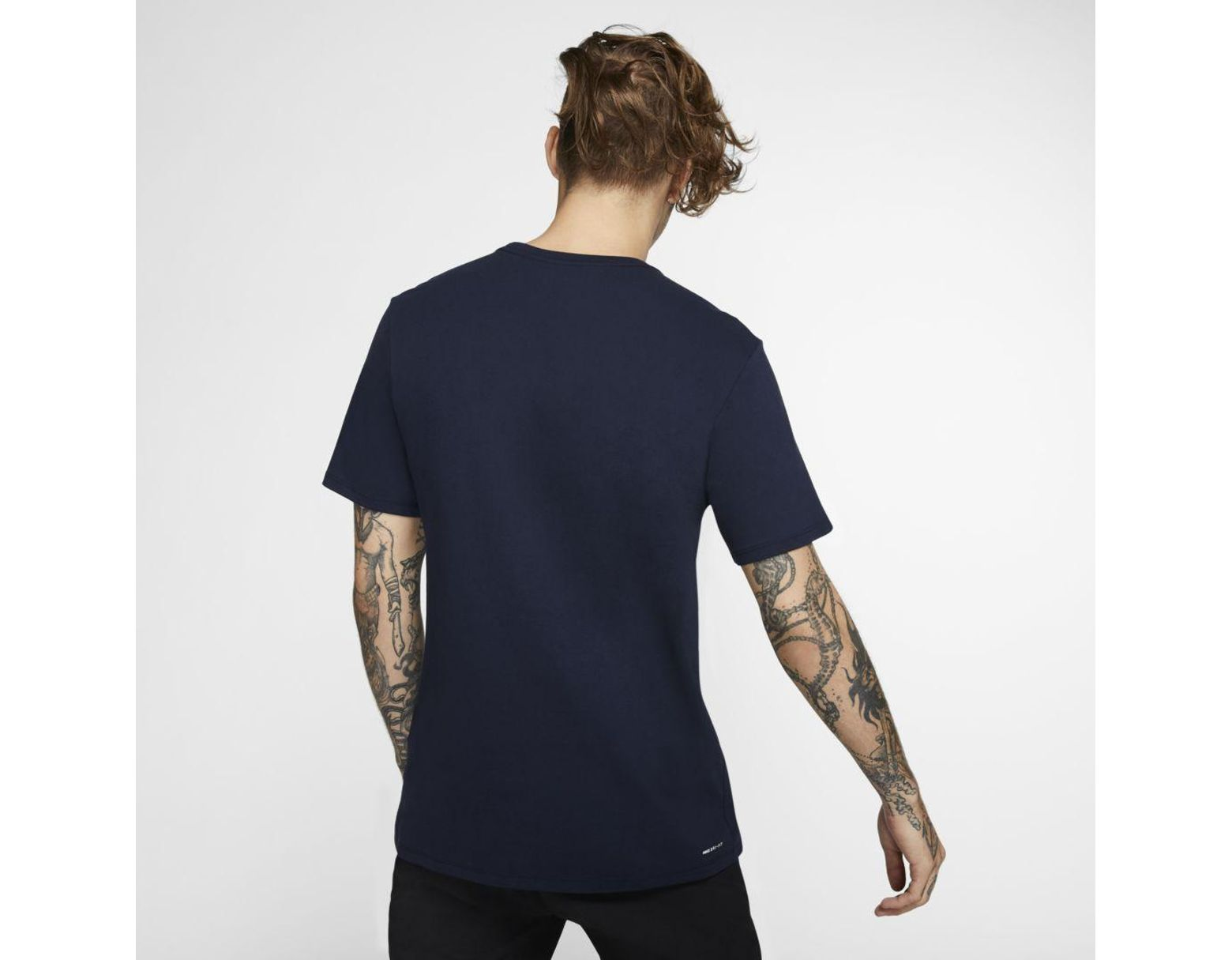 6226d14179 Nike Hurley Dri-fit Interval Premium Fit T-shirt in Blue for Men - Lyst