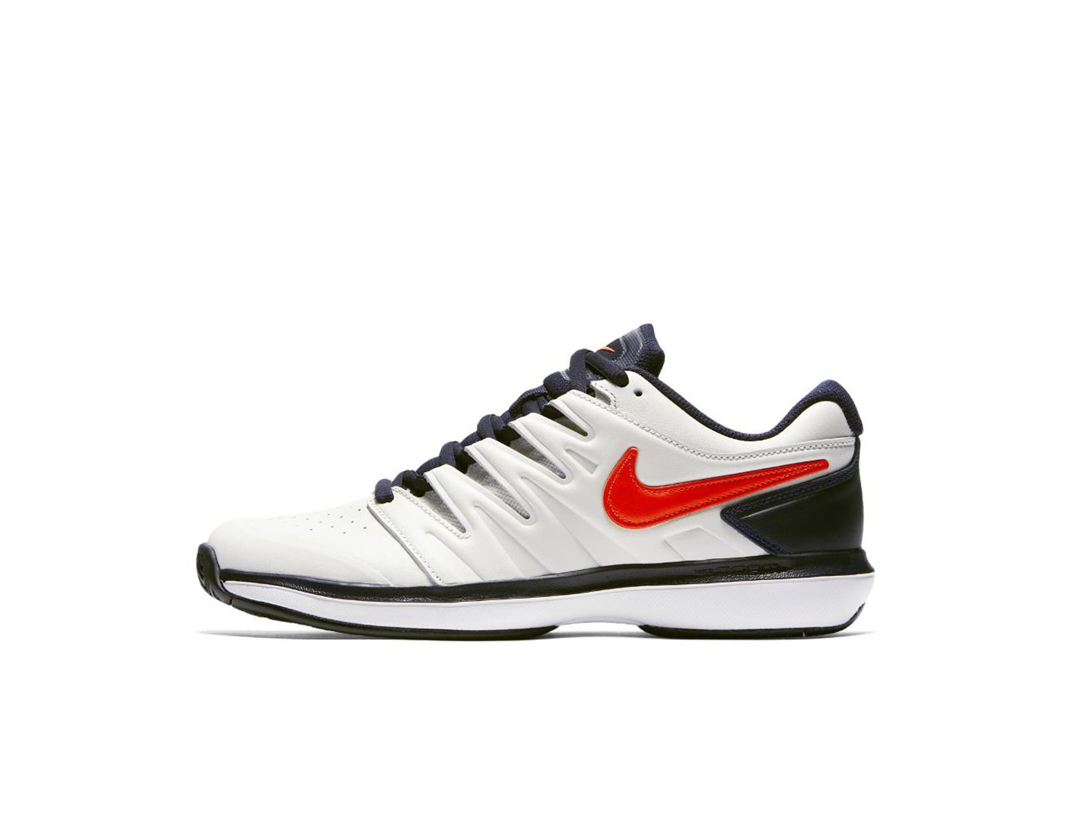 7a93b37e0b9f0 Lyst - Nike Air Zoom Prestige Leather Hc Men s Tennis Shoe in White for Men