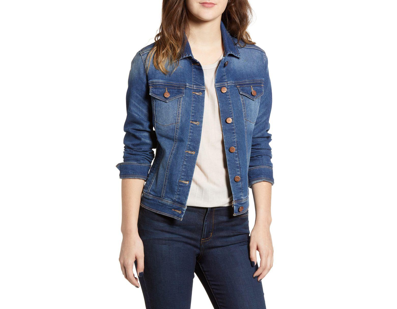 539a3414926ca 1822 Denim Heritage Denim Jacket in Blue - Lyst