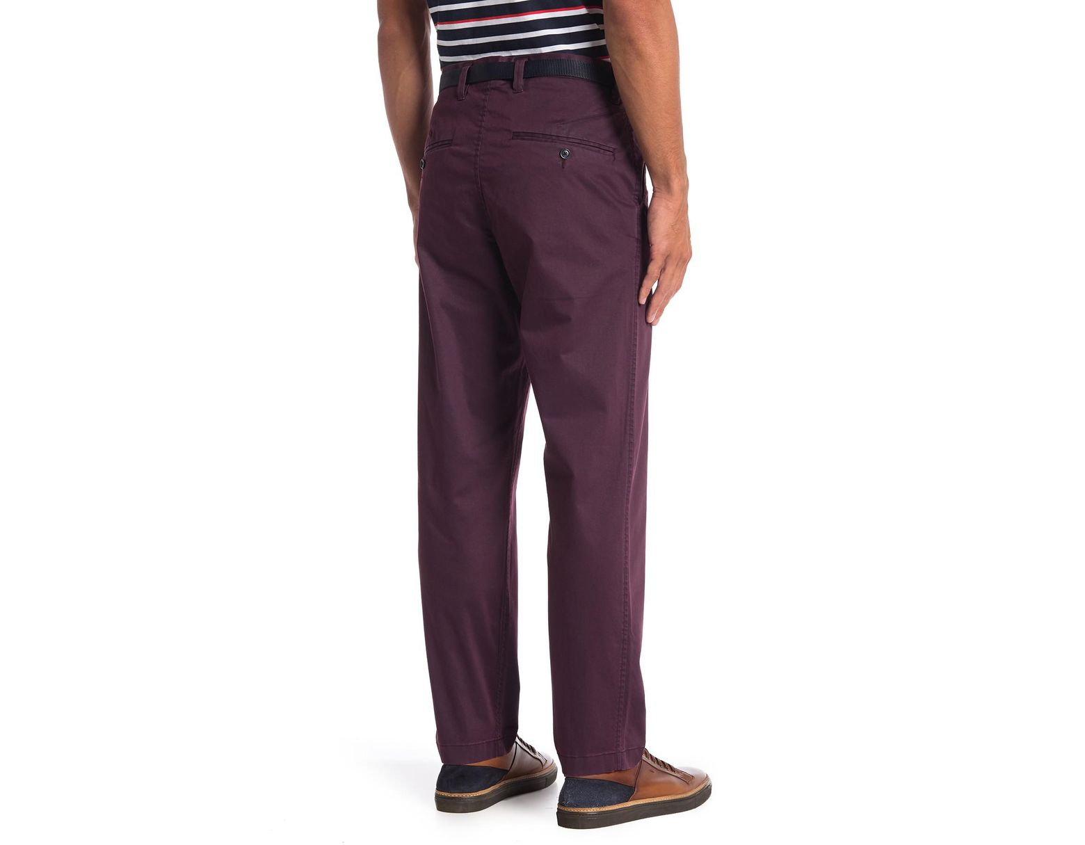 8f632a0c62 Perry Ellis Dyed Cargo Pants in Purple for Men - Lyst