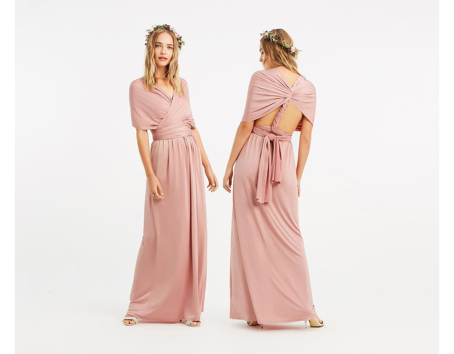 8139903aff1a Oasis Annie Multiway Maxi Dress* in Pink - Save 31% - Lyst