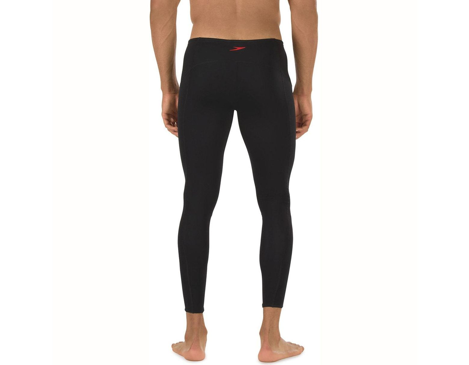 52144852a2ef4 Speedo Fitness Endurance+ Compression LEGGINGS in Black for Men - Lyst