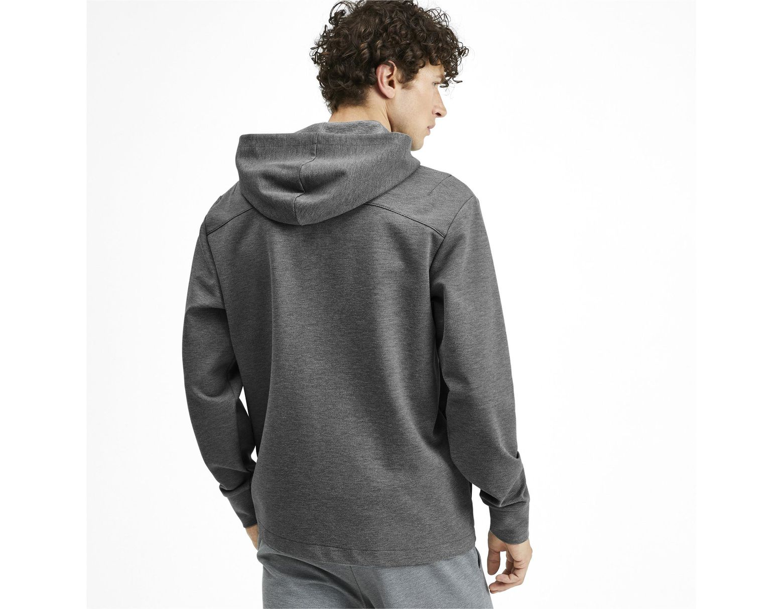 e71094301 PUMA Nu-tility Men's Full Zip Hoodie in Gray for Men - Lyst