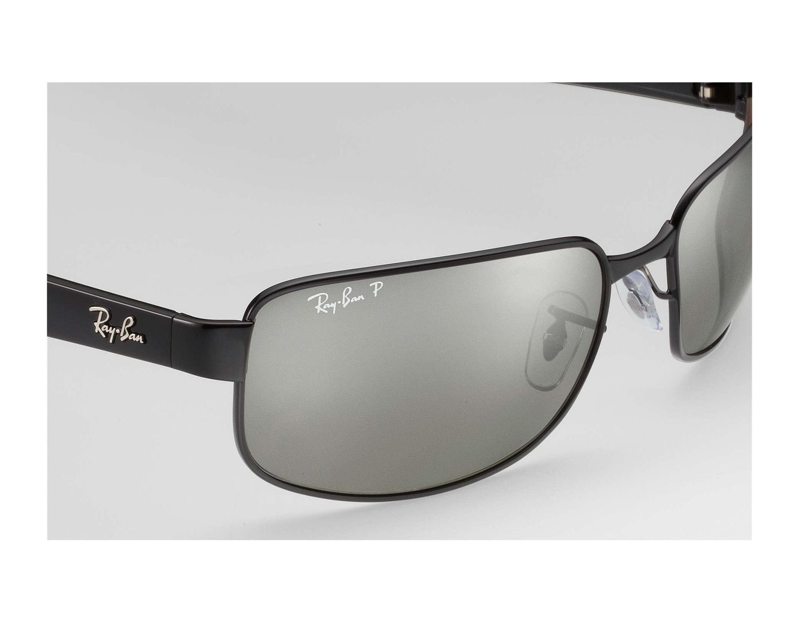 9023d3f86a121 Ray-Ban Rb3566 Chromance in Black for Men - Lyst