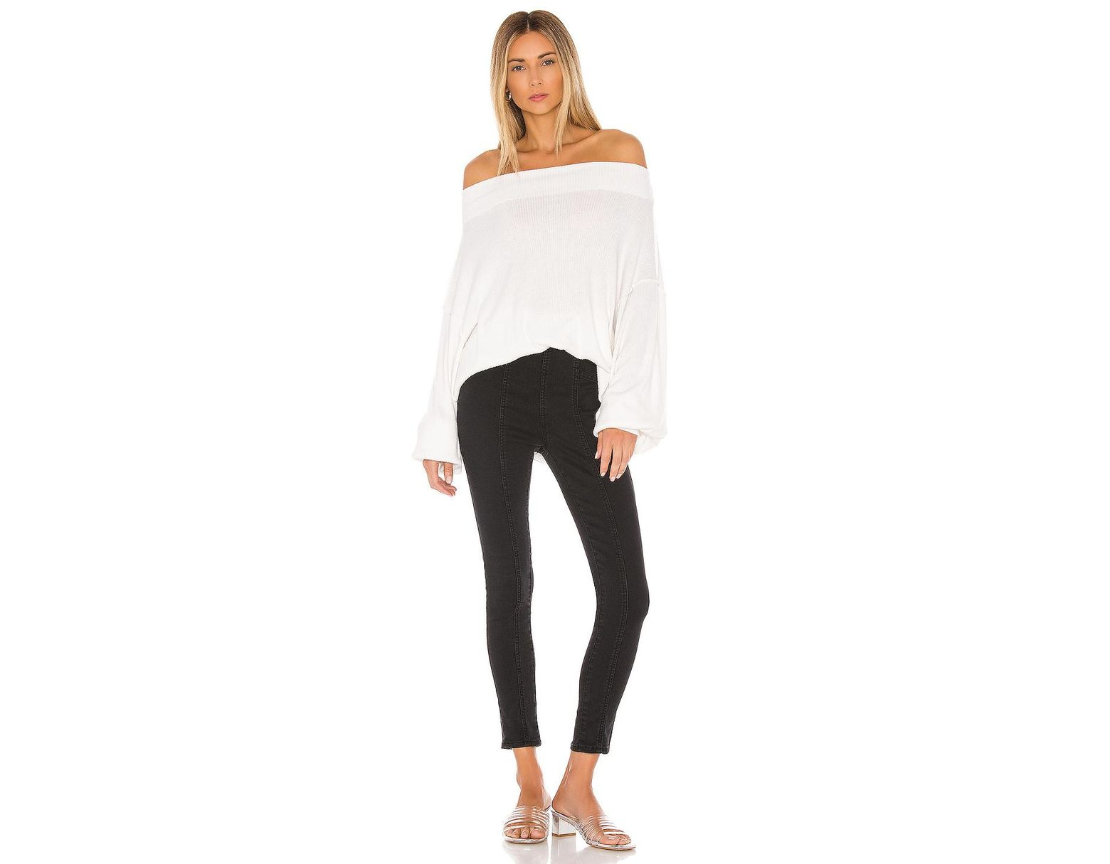 Free People Main Squeeze Hacci in White Lyst