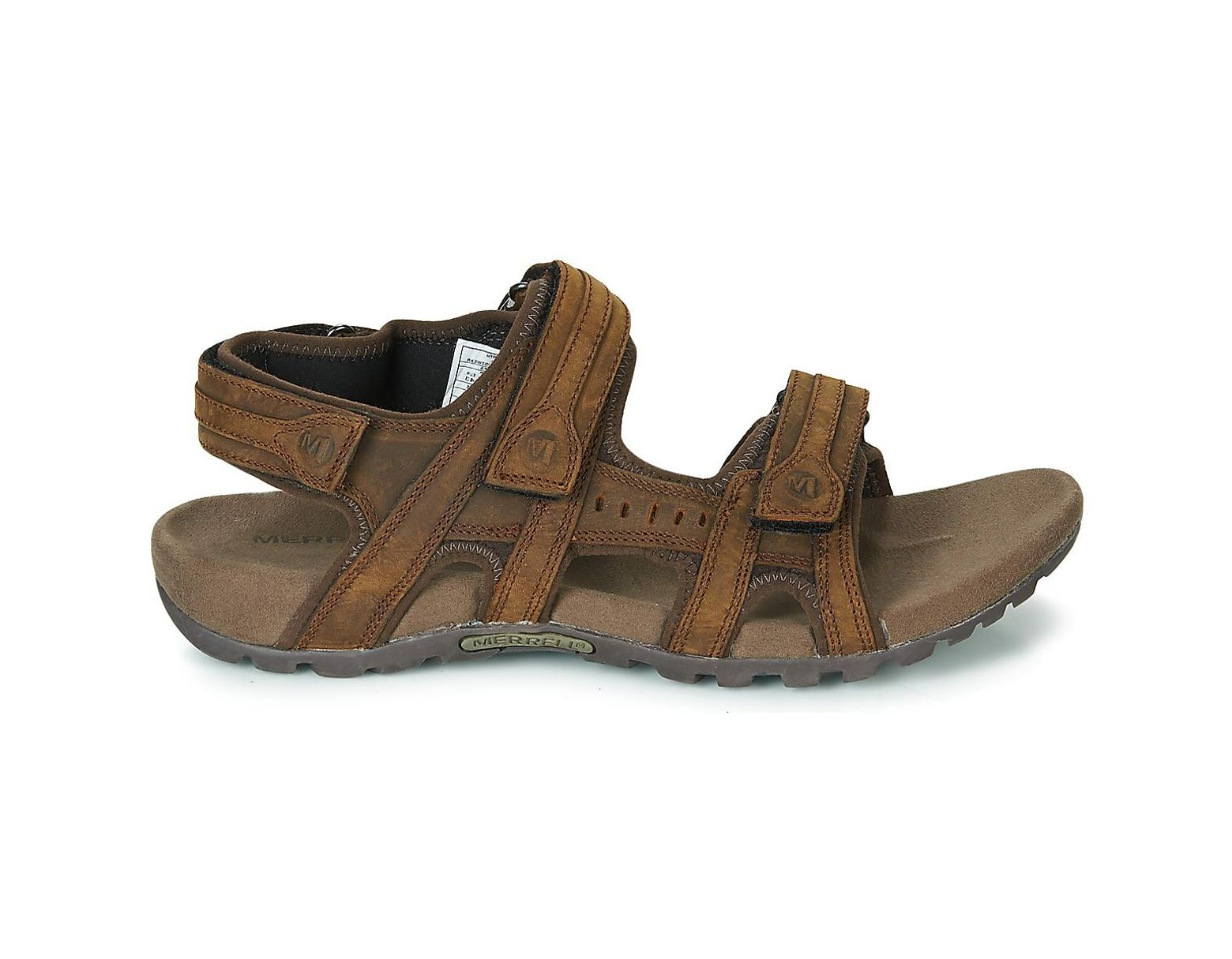 9e641c9640b3 Merrell Sandspur Lee Backstrap Sandals in Brown for Men - Lyst