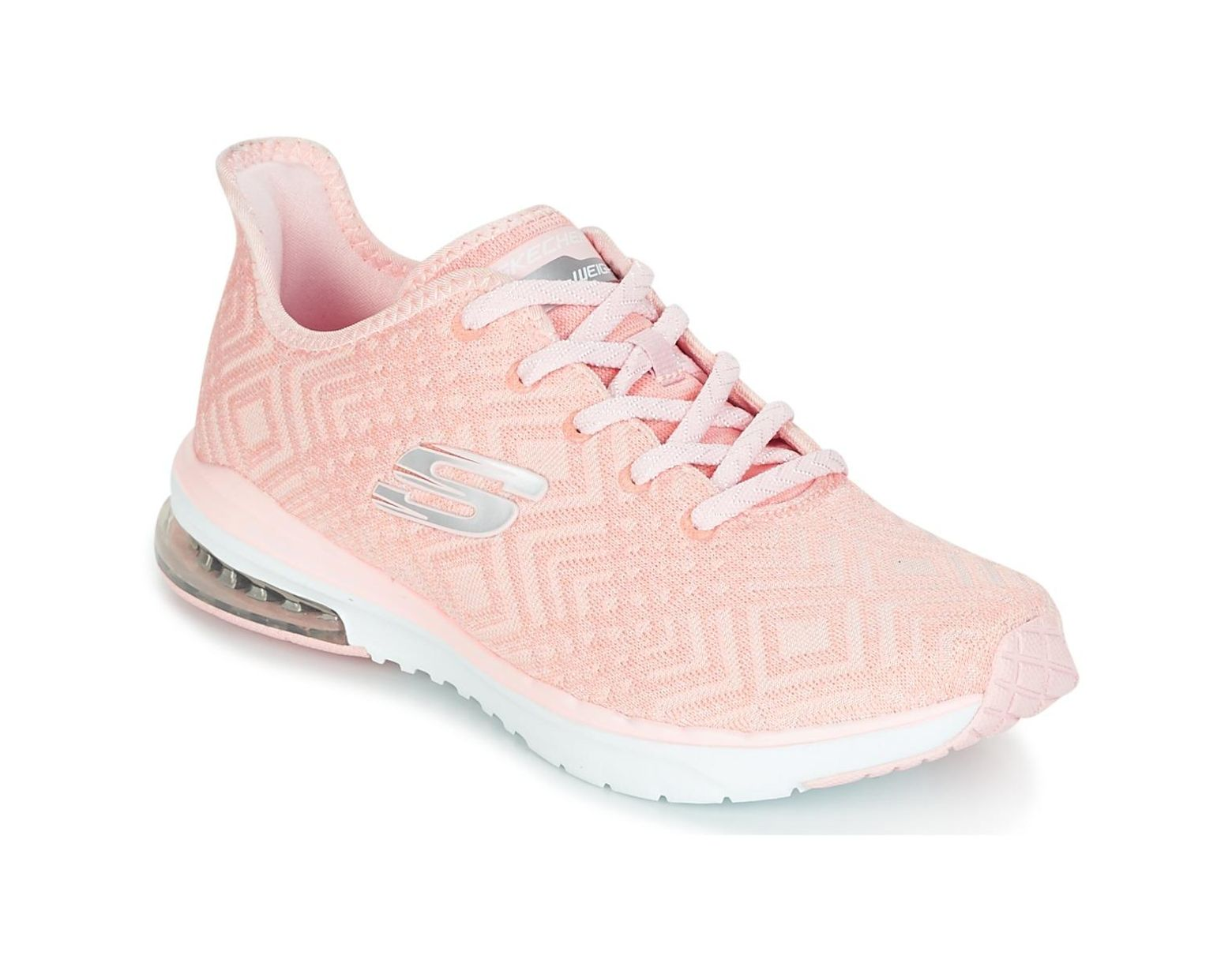 47ce59c571e Skechers Skech-air Infinity Women's Trainers In Pink in Pink - Save 44% -  Lyst