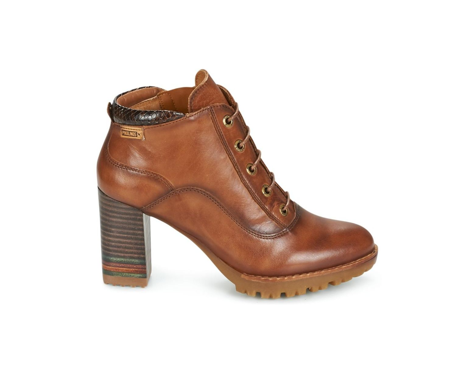 f5c96bf4137 Pikolinos Connelly W7m Low Ankle Boots in Brown - Lyst