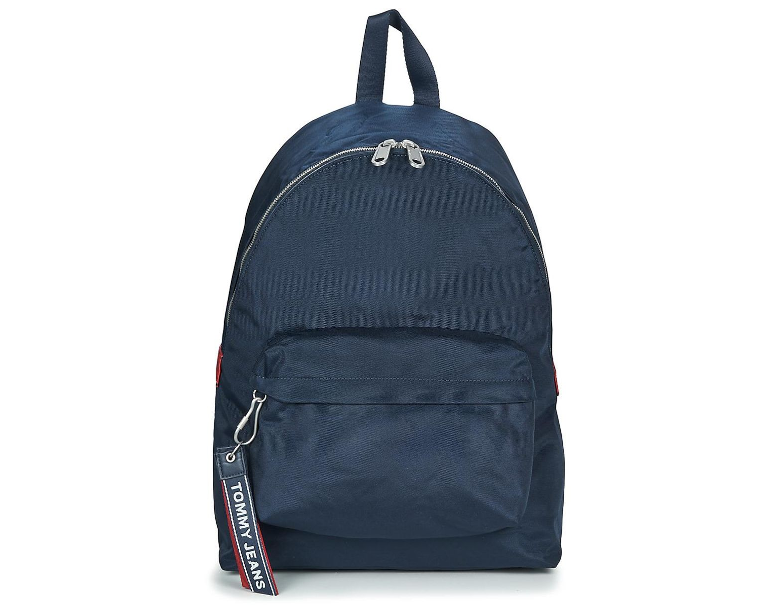 9d64635f442 Tommy Hilfiger Tju Logo Tape Bac... Backpack in Blue for Men - Lyst