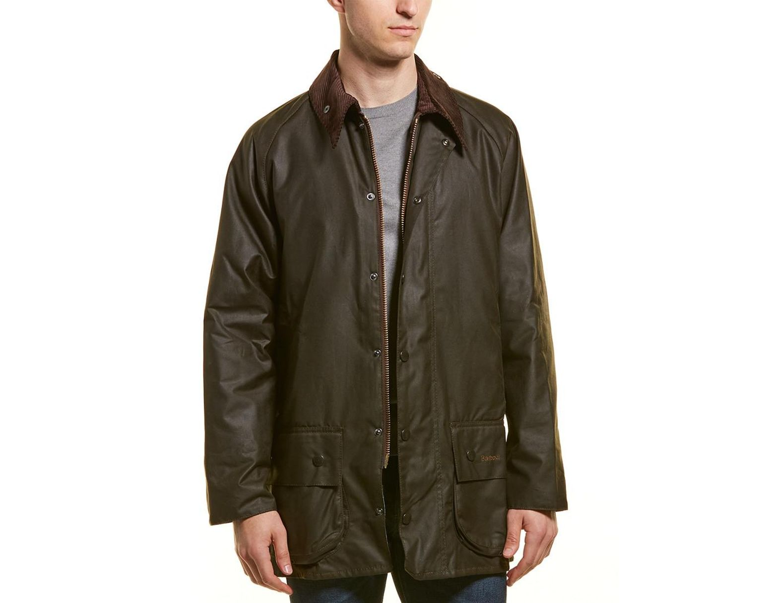 ed6a7033f36d Barbour Classic Beaufort Wax Jacket in Green for Men - Lyst