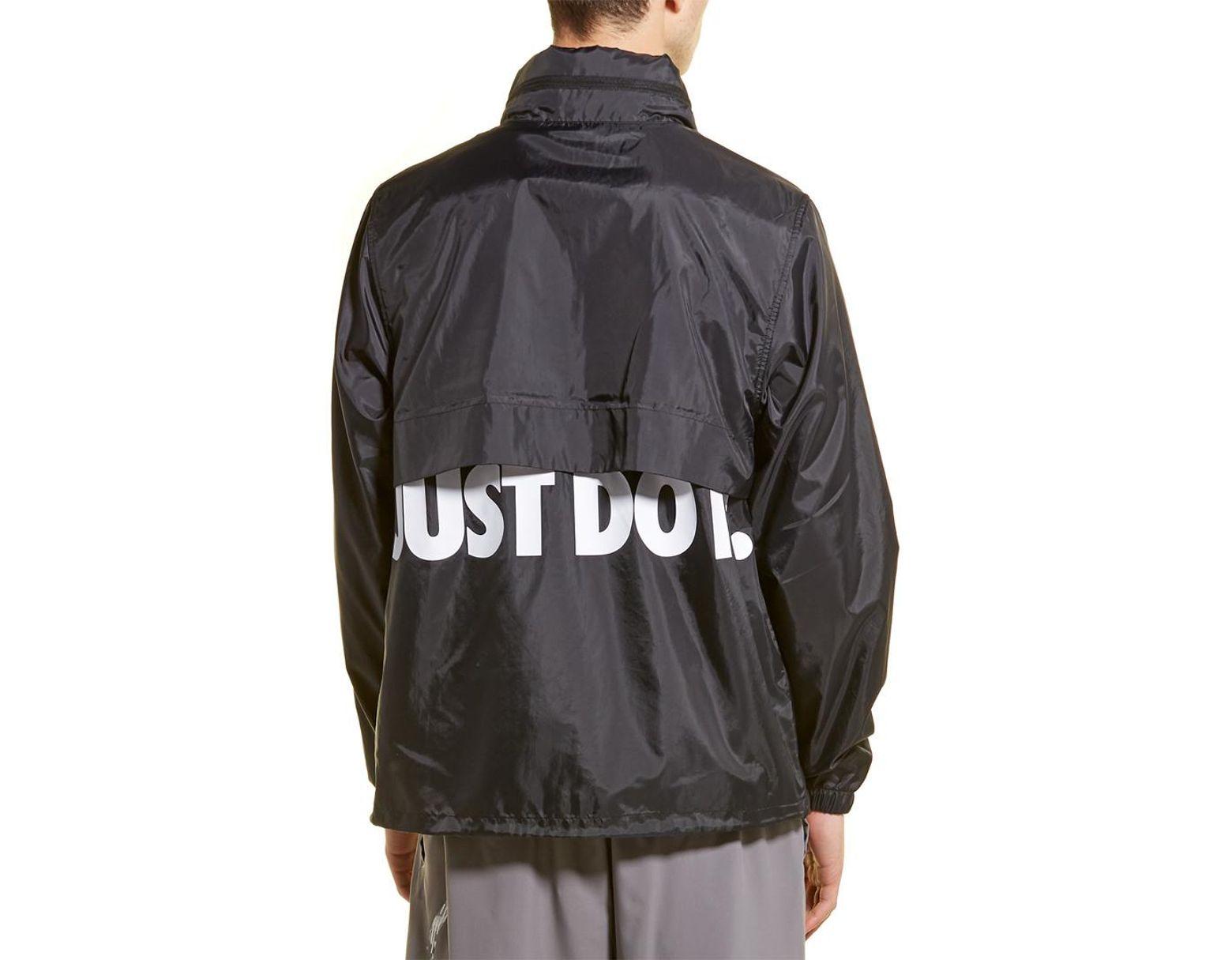 3167075ef Nike Jacket in Black for Men - Save 28% - Lyst