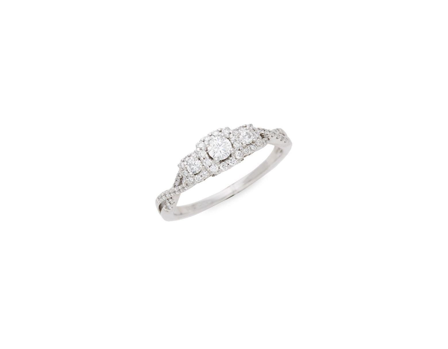 2185f0fc5d269 Saks Fifth Avenue Forever Beautiful 14k White Gold & Diamond Ring in ...