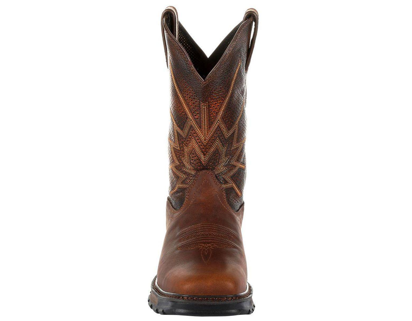 78de883a49d Durango Maverick Xp Ventilated Western Work Boot in Brown for Men - Lyst