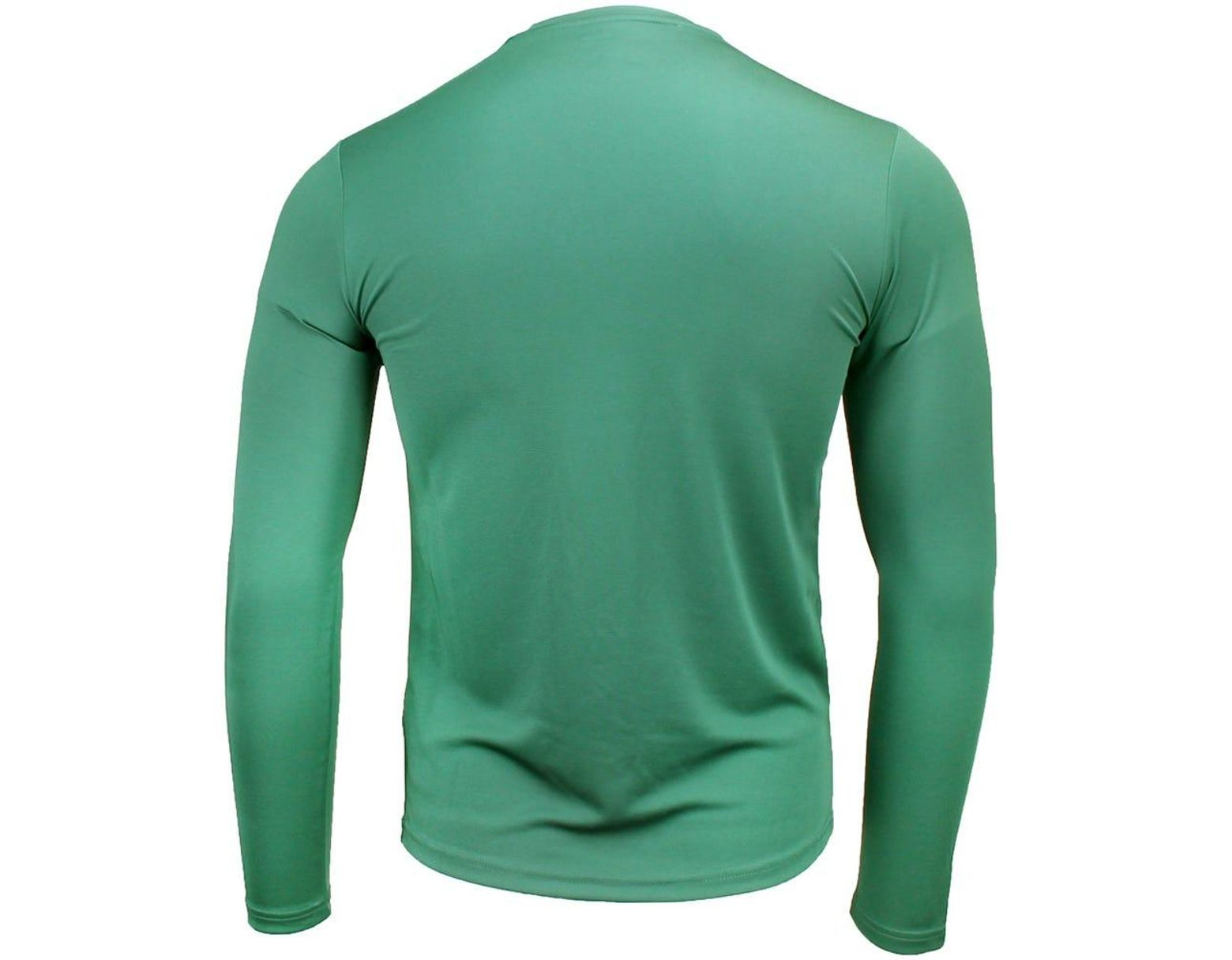 8bb3bb041ef51 Asics Circuit 8 Long Sleeve Tee in Green for Men - Lyst