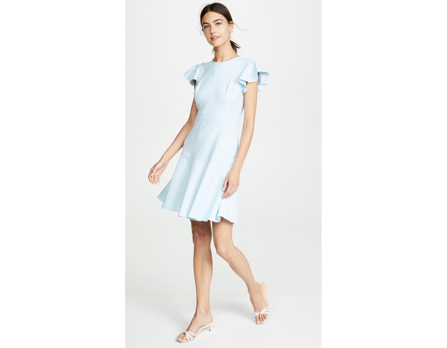 1afbb1611d2 Shoshanna Egle Dress in Blue - Lyst