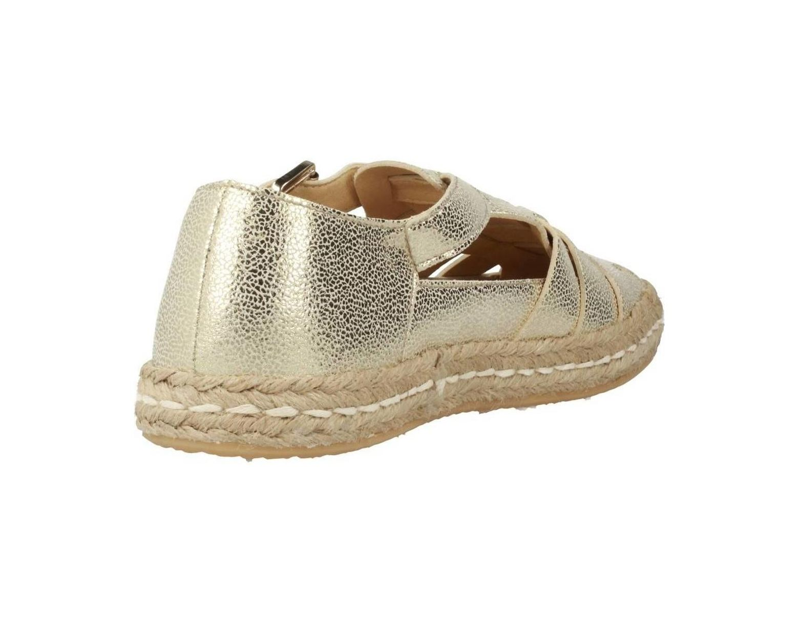 38932302870be0 Geox D Modesty Women's Espadrilles / Casual Shoes In Gold in Metallic -  Save 28% - Lyst