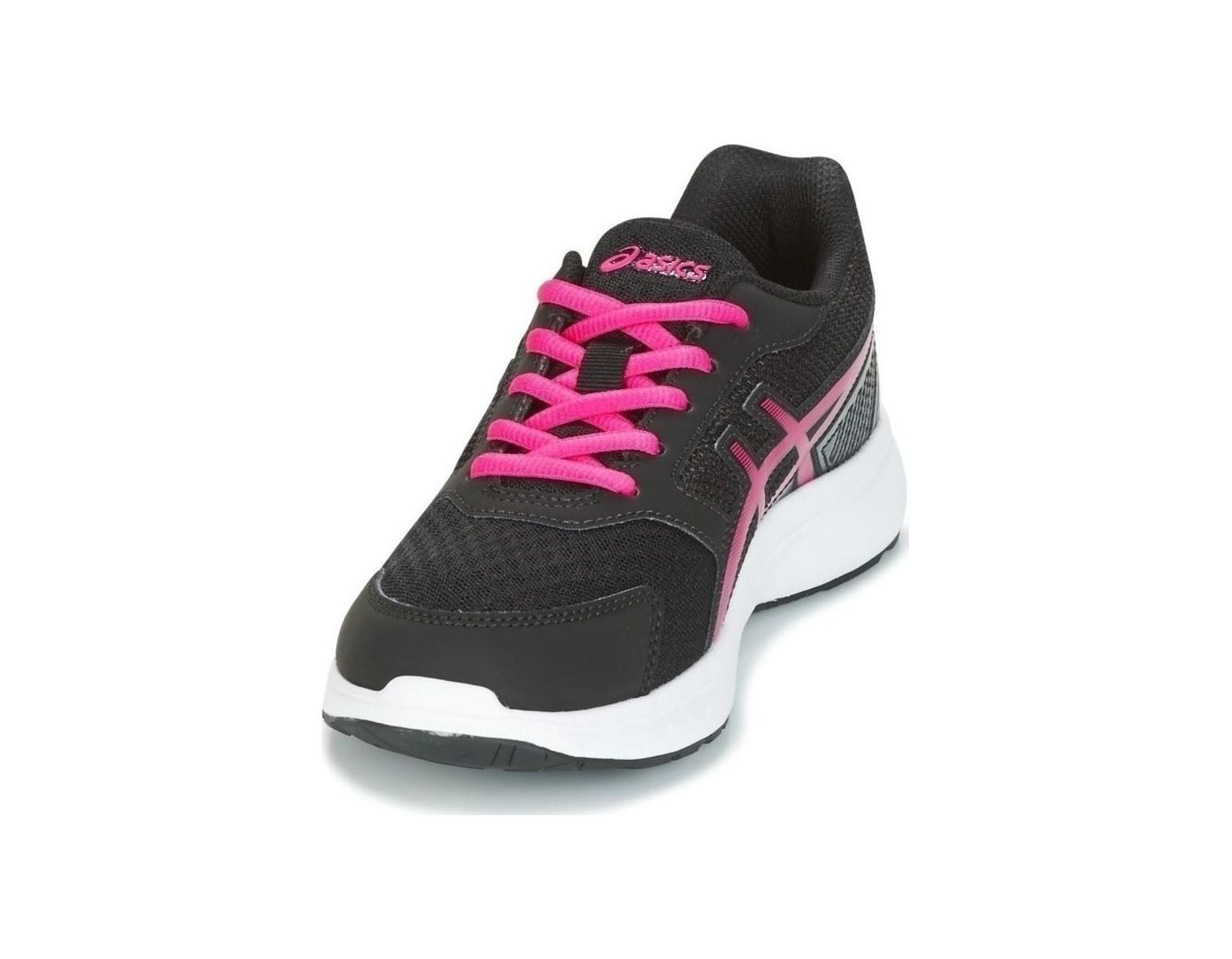 97e3c3e052 Asics Gel Stormer 2 Gs C811n 9019 Women's Running Trainers In Black in  Black - Save 41% - Lyst