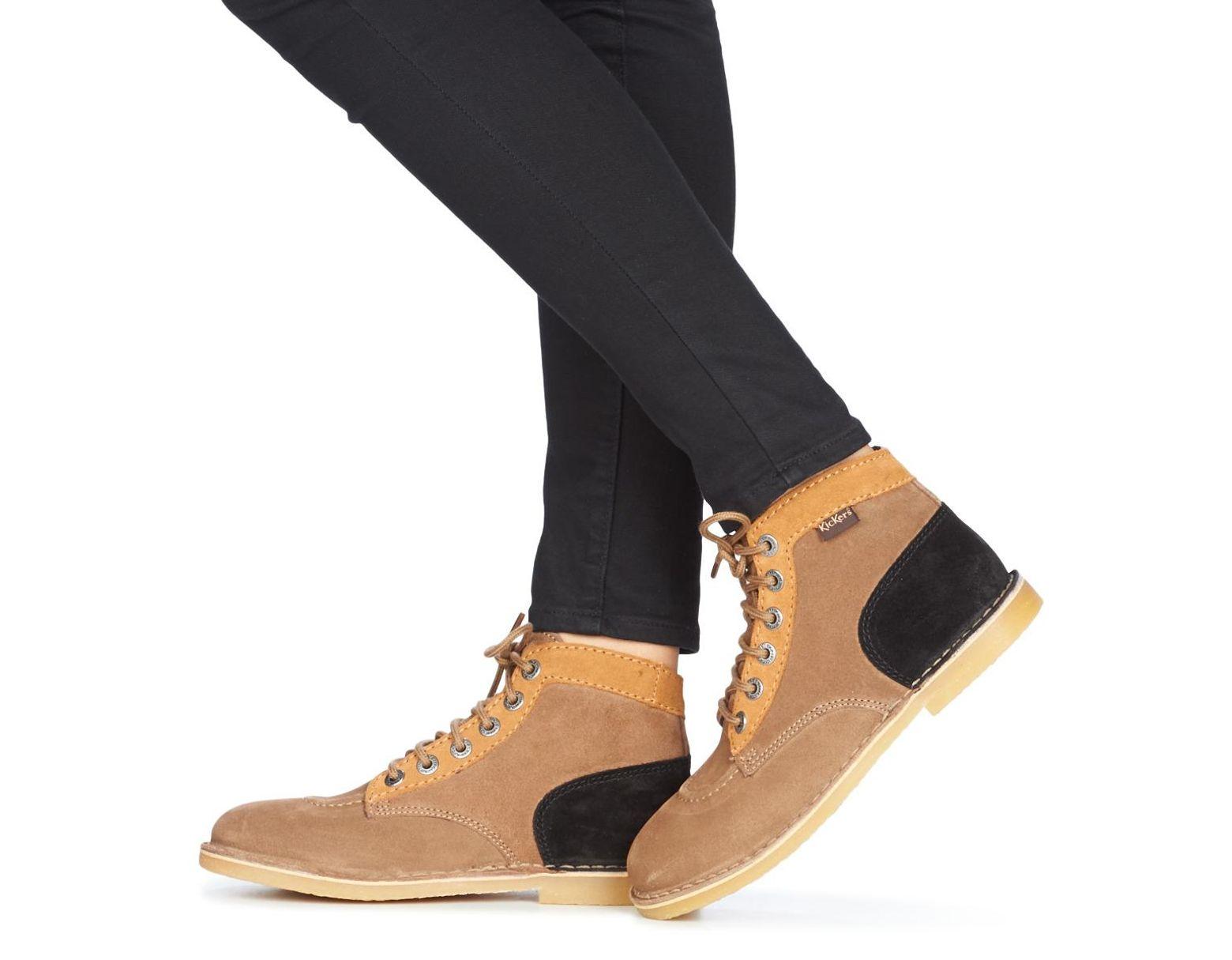 901a51e769db6e ORILEGEND femmes Boots en Beige Kickers en coloris Neutre - Lyst