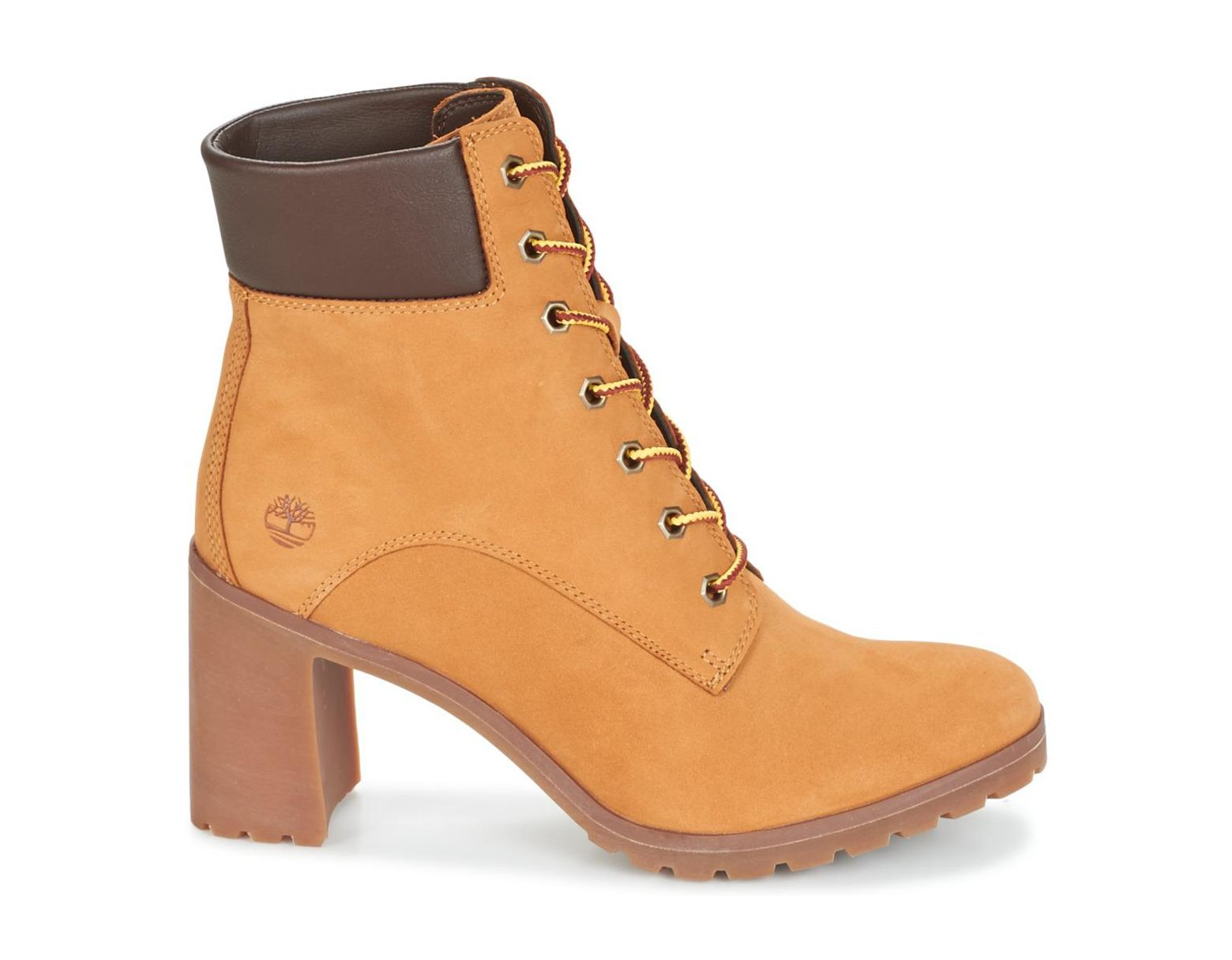 fd4f305c7a3 Timberland Allington 6in Lace Up Women's Low Ankle Boots In Brown in Brown  - Lyst